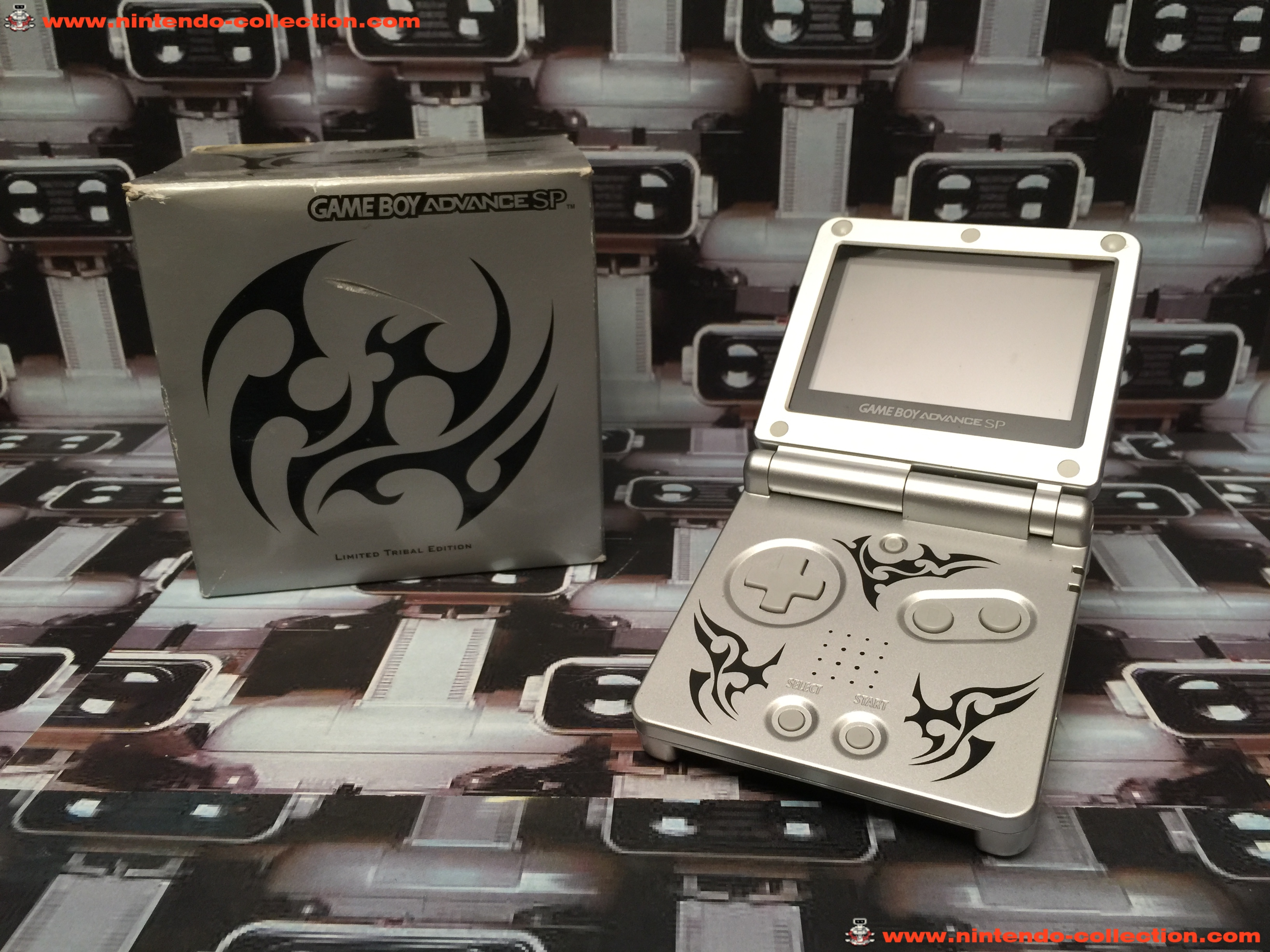 www.nintendo-collection.com - Gameboy Advance GBA SP Tribal Edition europeenne european - 02
