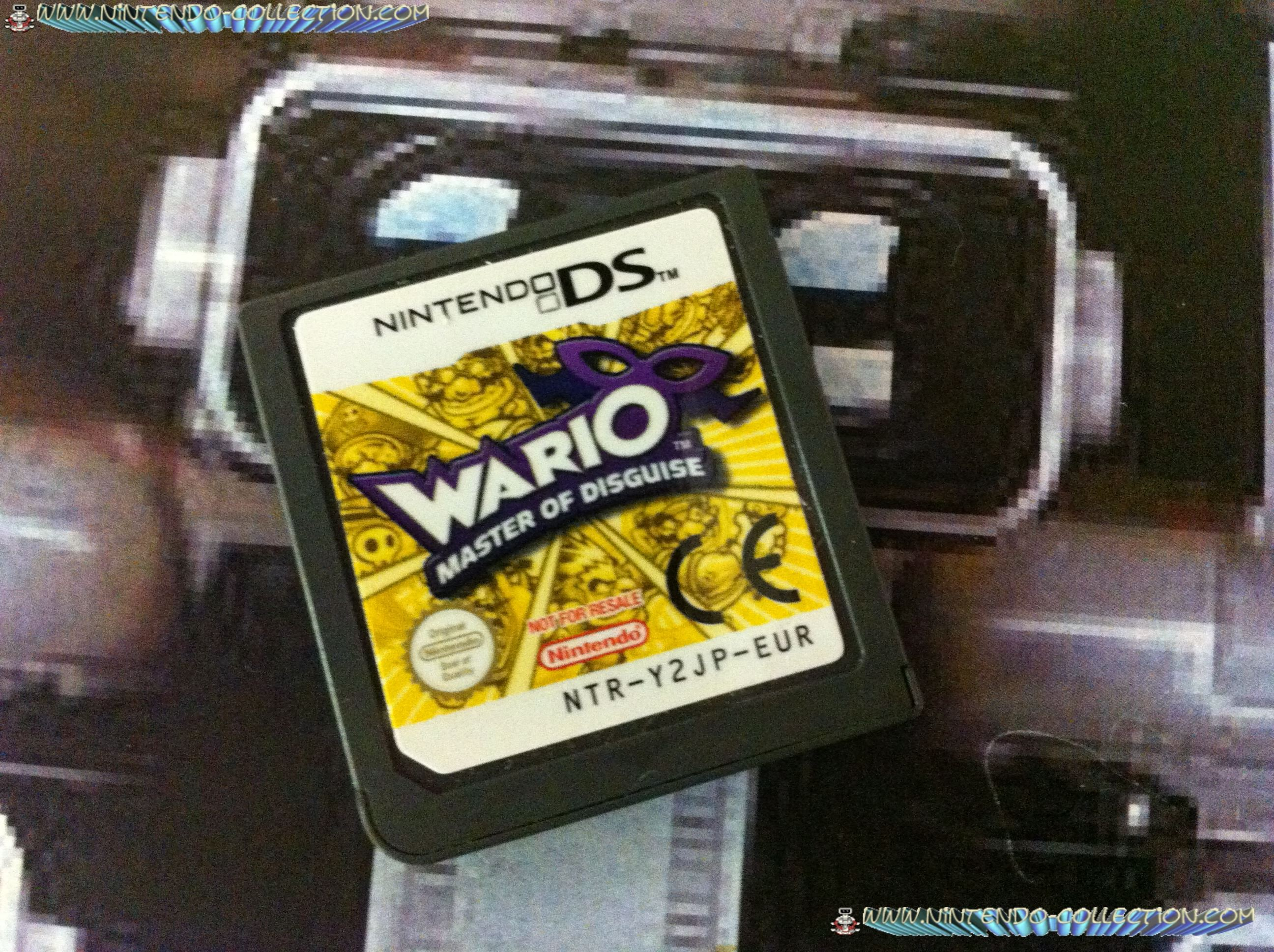www.nintendo-collection.com - Demo DS 3 DS - Not For Resale - Wario Master of disguise