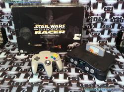 www.nintendo-collection.com - Nintendo 64 N64 Star Wars Racer edition Set