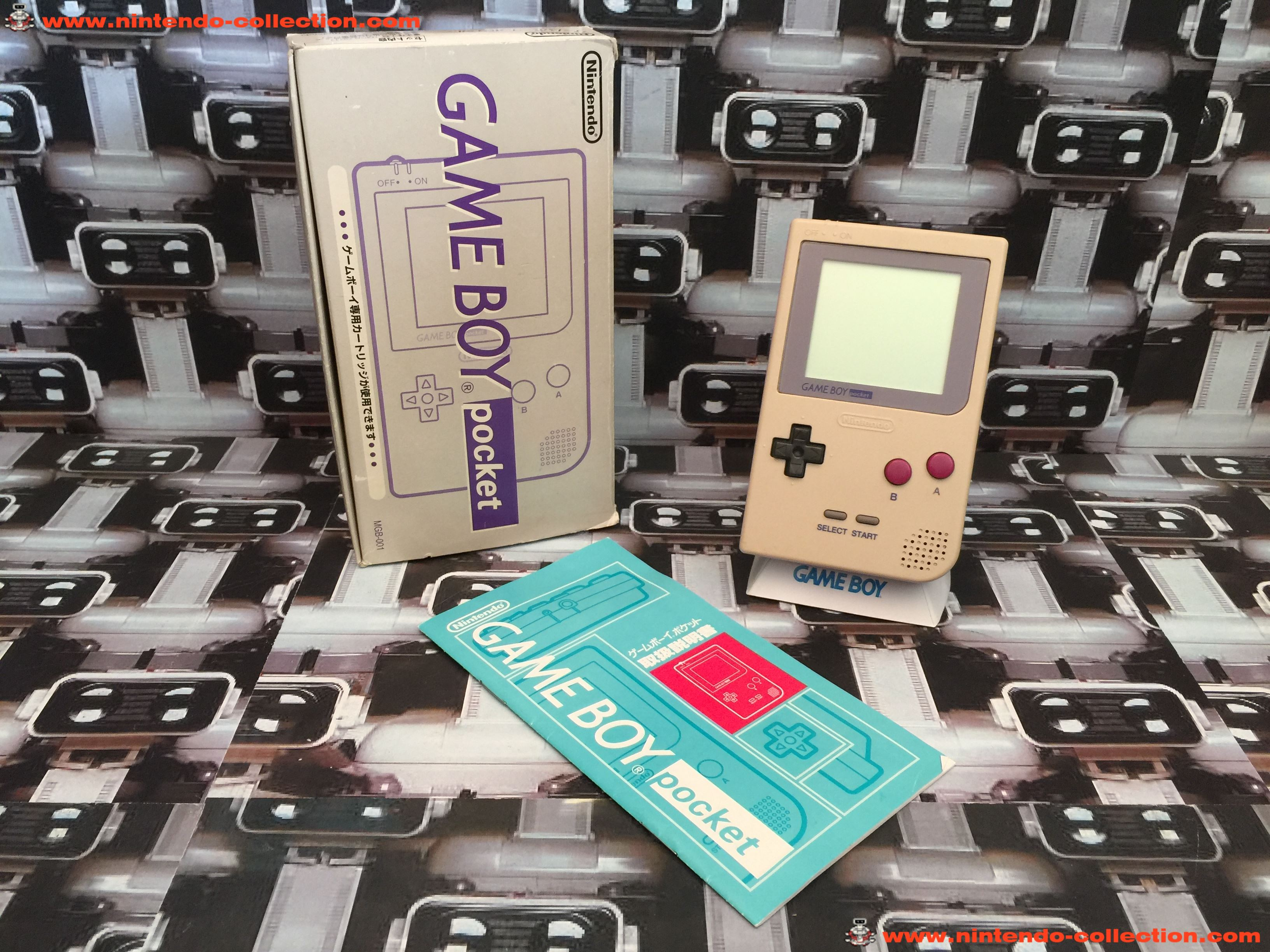 www.nintendo-collection.com - Gameboy GB Classic Color Limited edition Japan