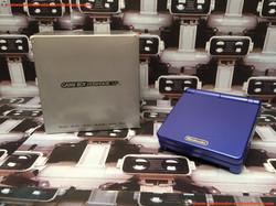 www.nintendo-collection.com - Gameboy Advance GBA SP Blue Bleu Edition europeenne european - 01