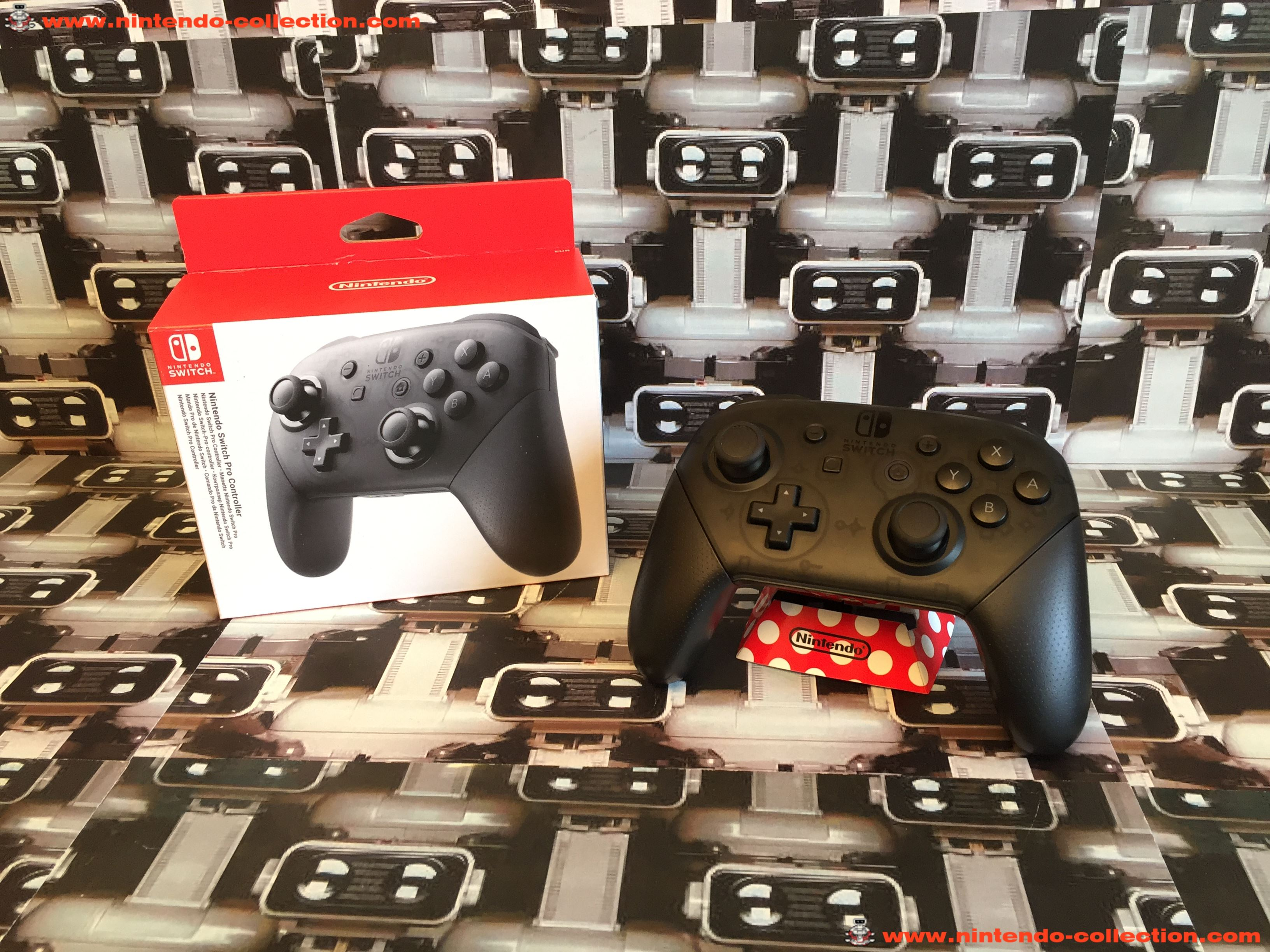 www.nintendo-collection.com - Nintendo Switch Pro Controller Manette
