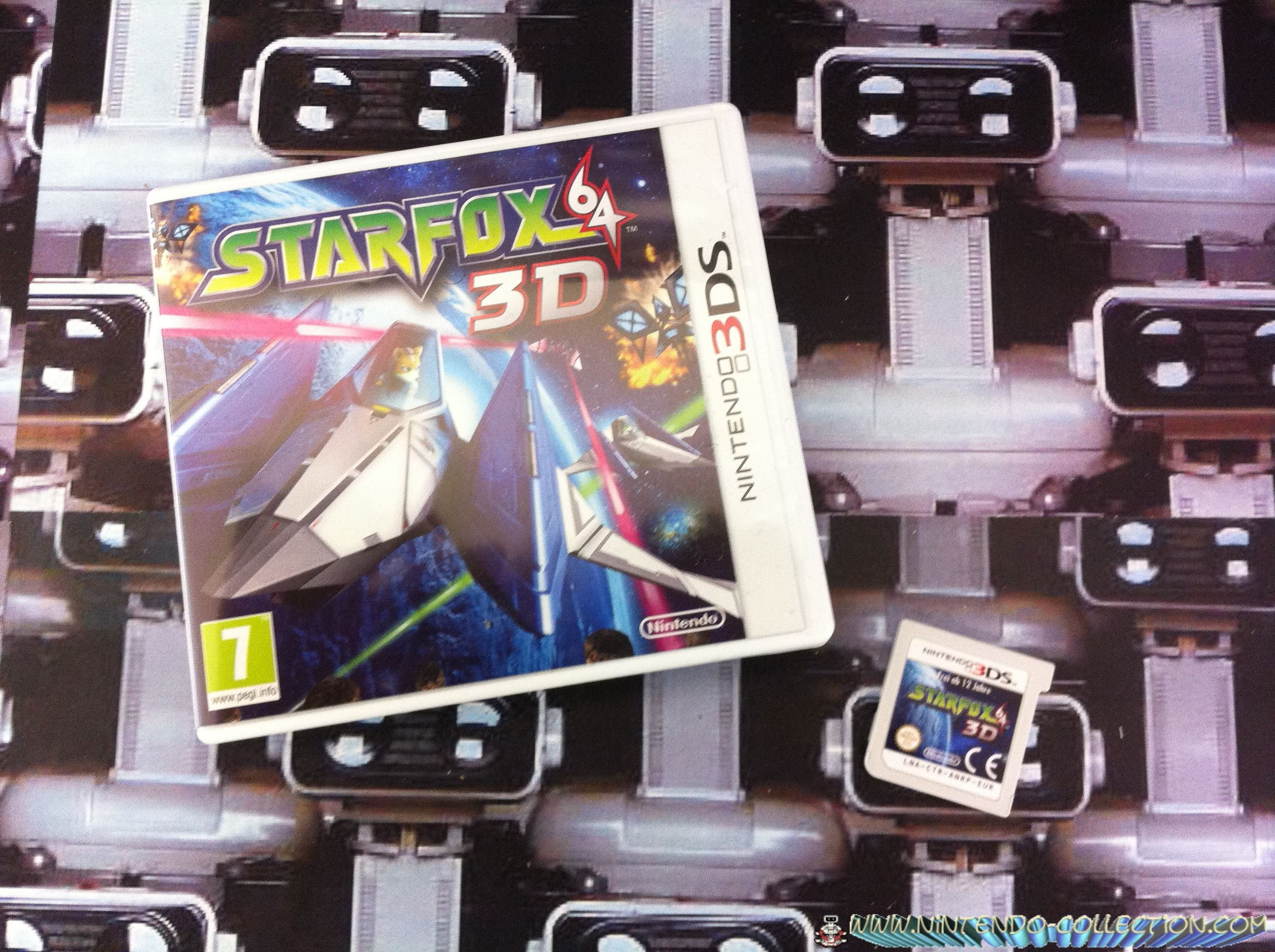 www.nintendo-collection.com - Starfox 64 3ds 3ds