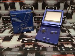 www.nintendo-collection.com - Gameboy Advance GBA SP Blue Bleu Edition Japan Japanese Japonaise vers
