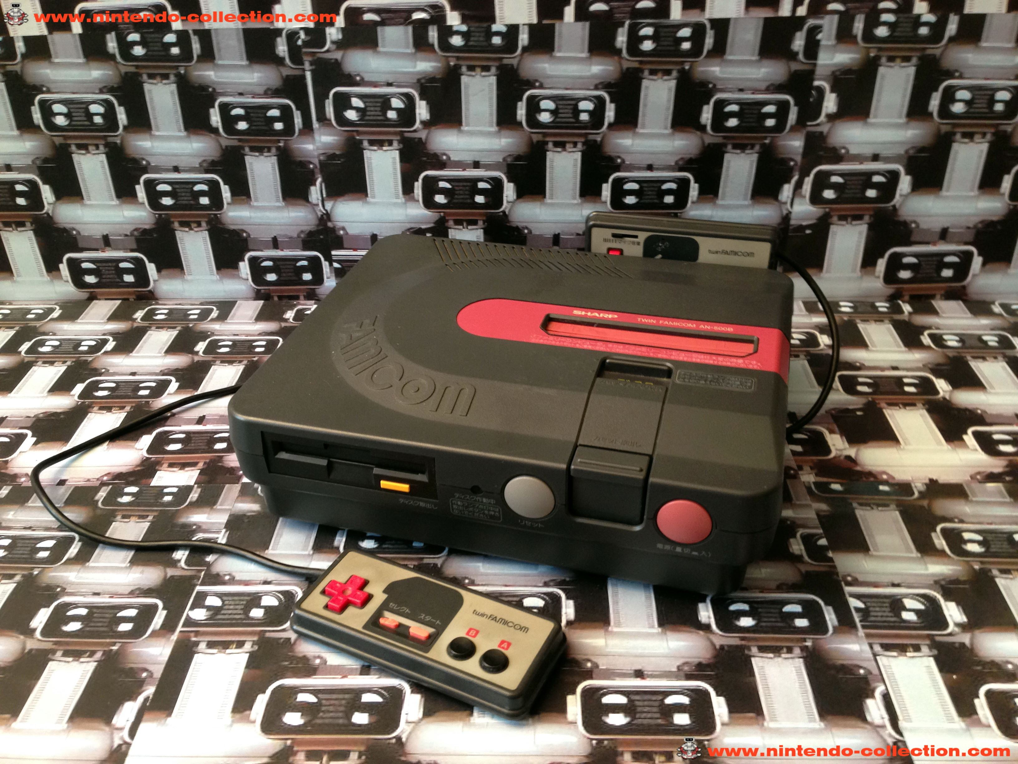 www.nintendo-collection.com - Sharp Twin Famicom Black