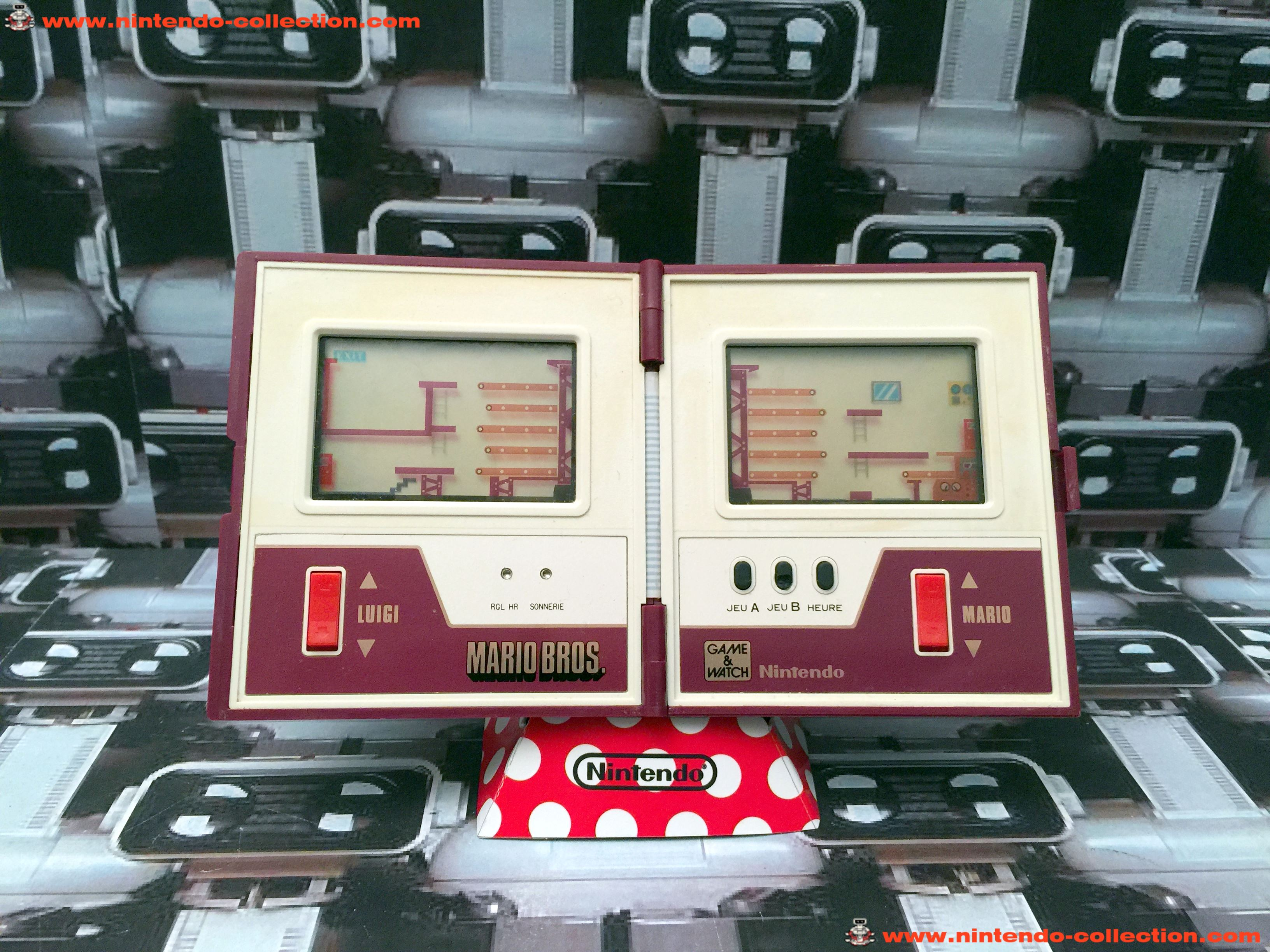 www.nintendo-collection.com - Game & Watch Multi Screen Mario Bros. - 02