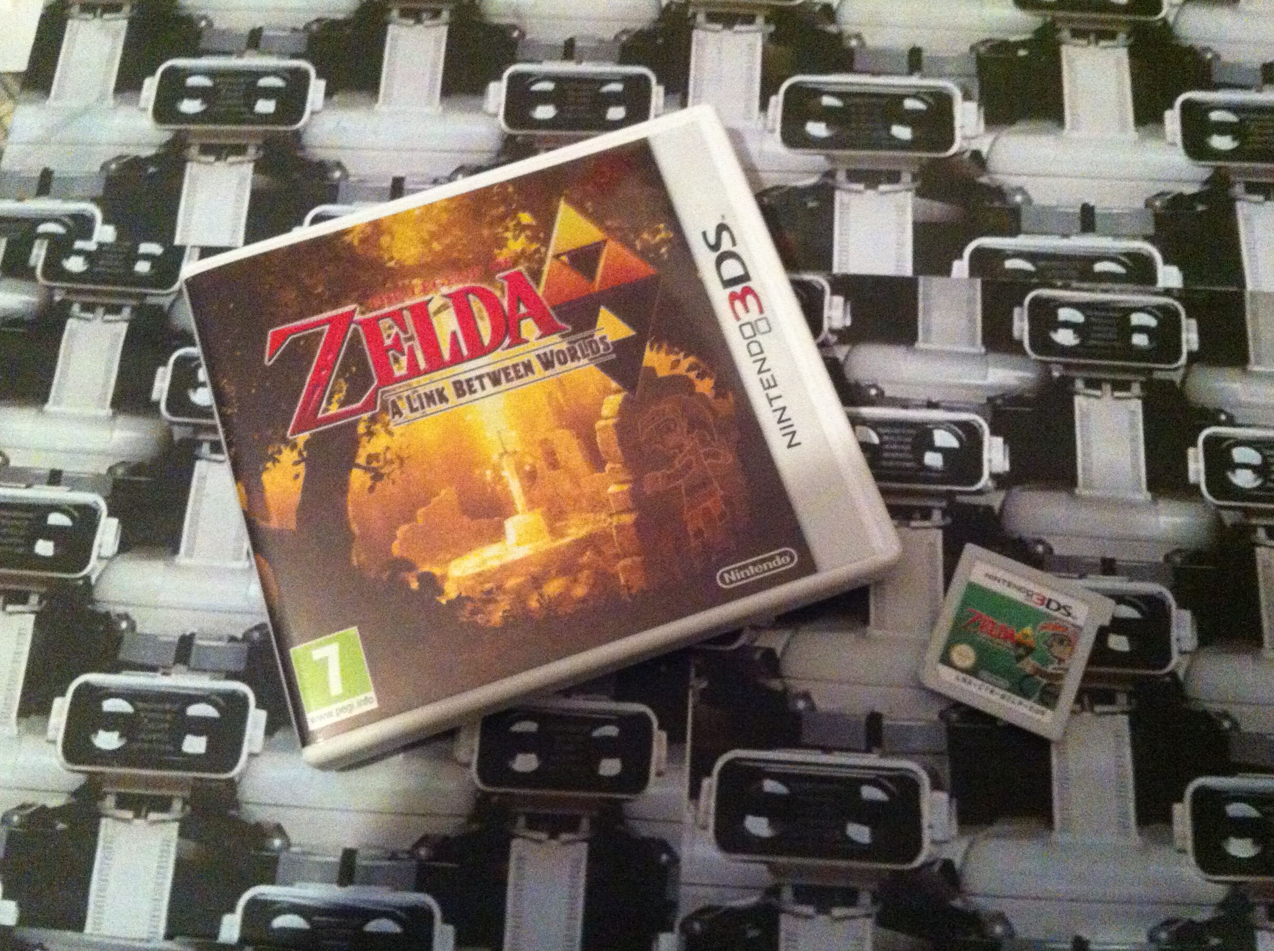 www.nintendo-collection.com - Nintendo 3DS Game Jeux Zelda A Link Between Worlds