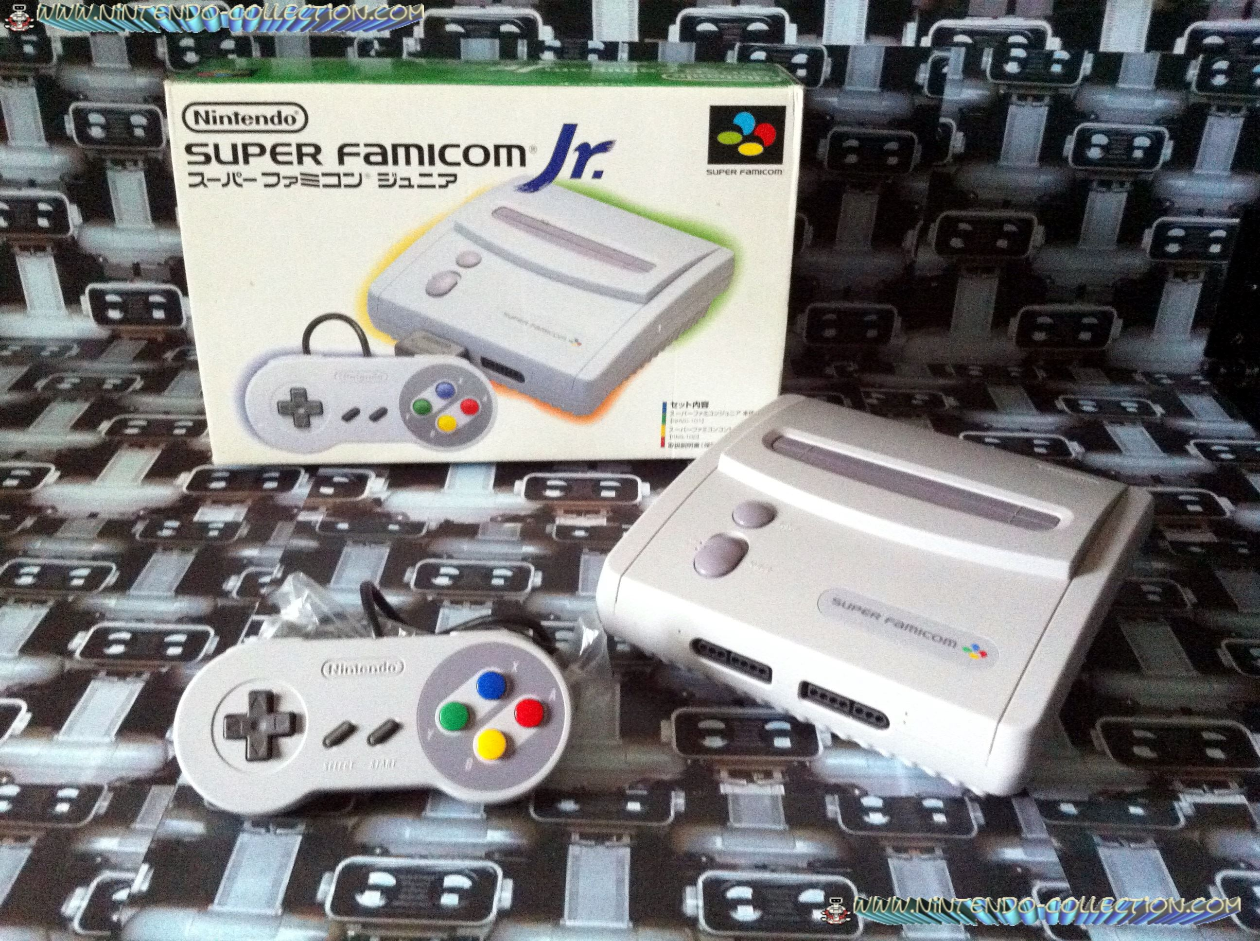 www.nintendo-collection.com - Super Nintendo Super Famicom Super Nes  Pack Super Famicom Jr Junior