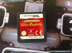 www.nintendo-collection.com - Demo DS 3DS - Not For Resale - Porfessor Lyaton and the pandora s Box