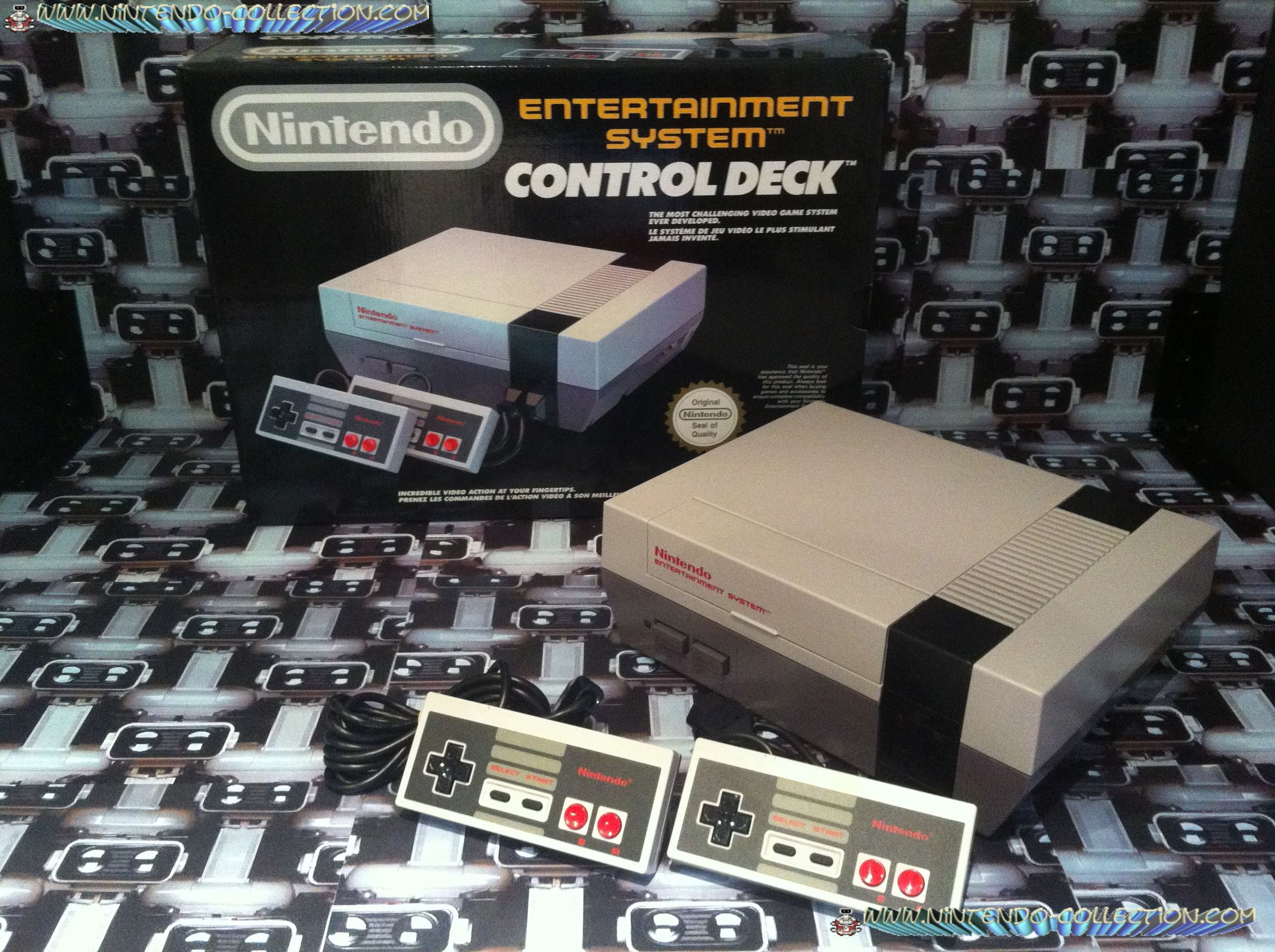 www.nintendo-collection.com - Nintendo NES Control Deck Euro Version 2