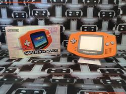 www.nintendo-collection.com - Gameboy Advance GBA Spicy Orange Japanese Japan Japonaise