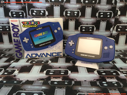 www.nintendo-collection.com - Gameboy Advance GBA Blue Bleue Toy R Us Toyrus Limited Edition US Amer