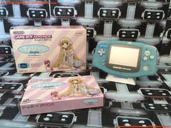 www.nintendo-collection.com - Gameboy Advance GBA Chobits Atashi Dake no Hito Limited Edition Clear