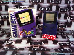 www.nintendo-collection.com - Gameboy Color violette purple edition european europe