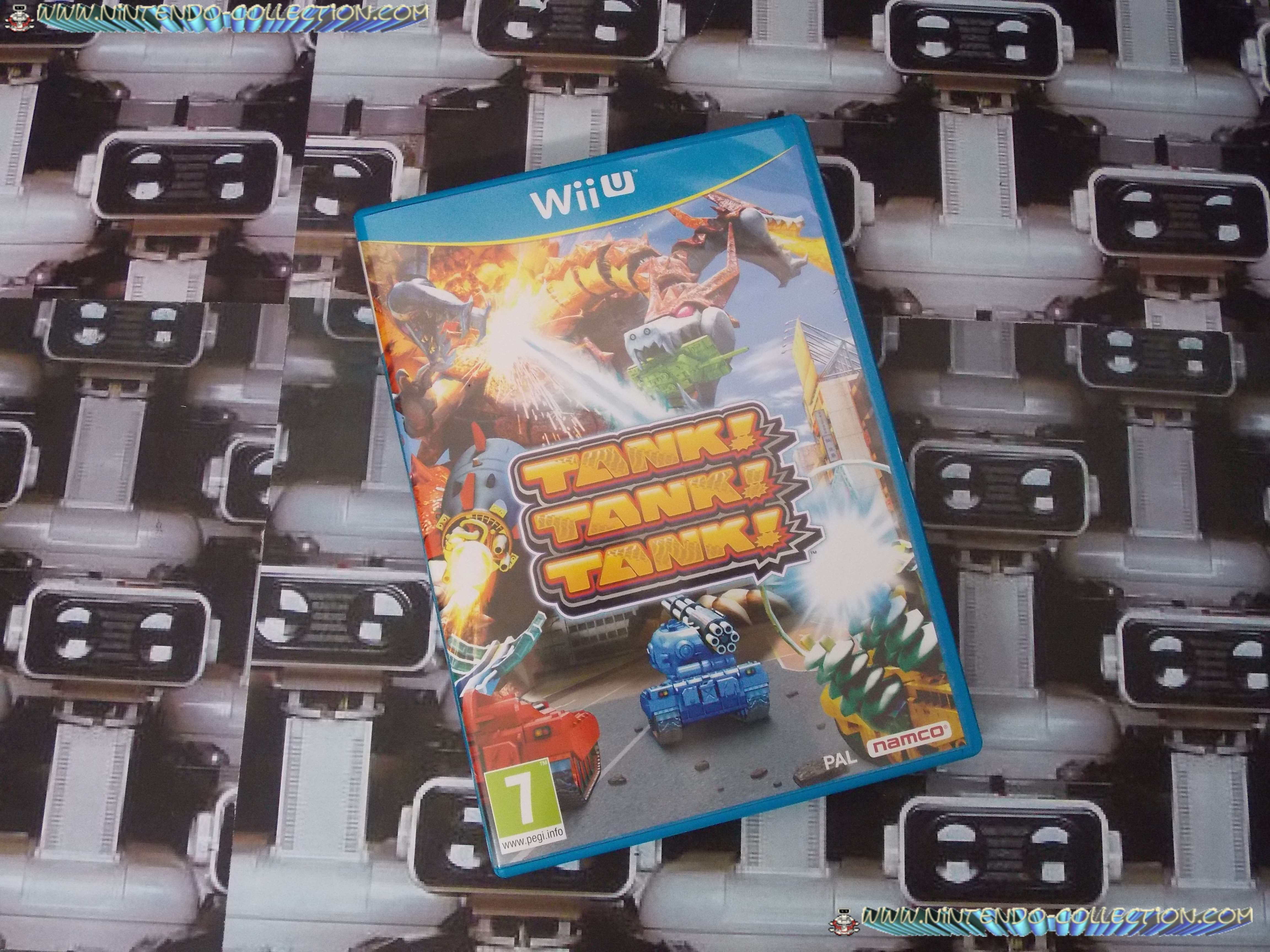 www.nintendo-collection.com - Wii U Game Jeu Tank Tank Tank