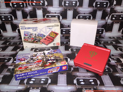 www.nintendo-collection.com - Gameboy Advance GBA SP Gundamhar Aznable Custom Japan Japanese Japon
