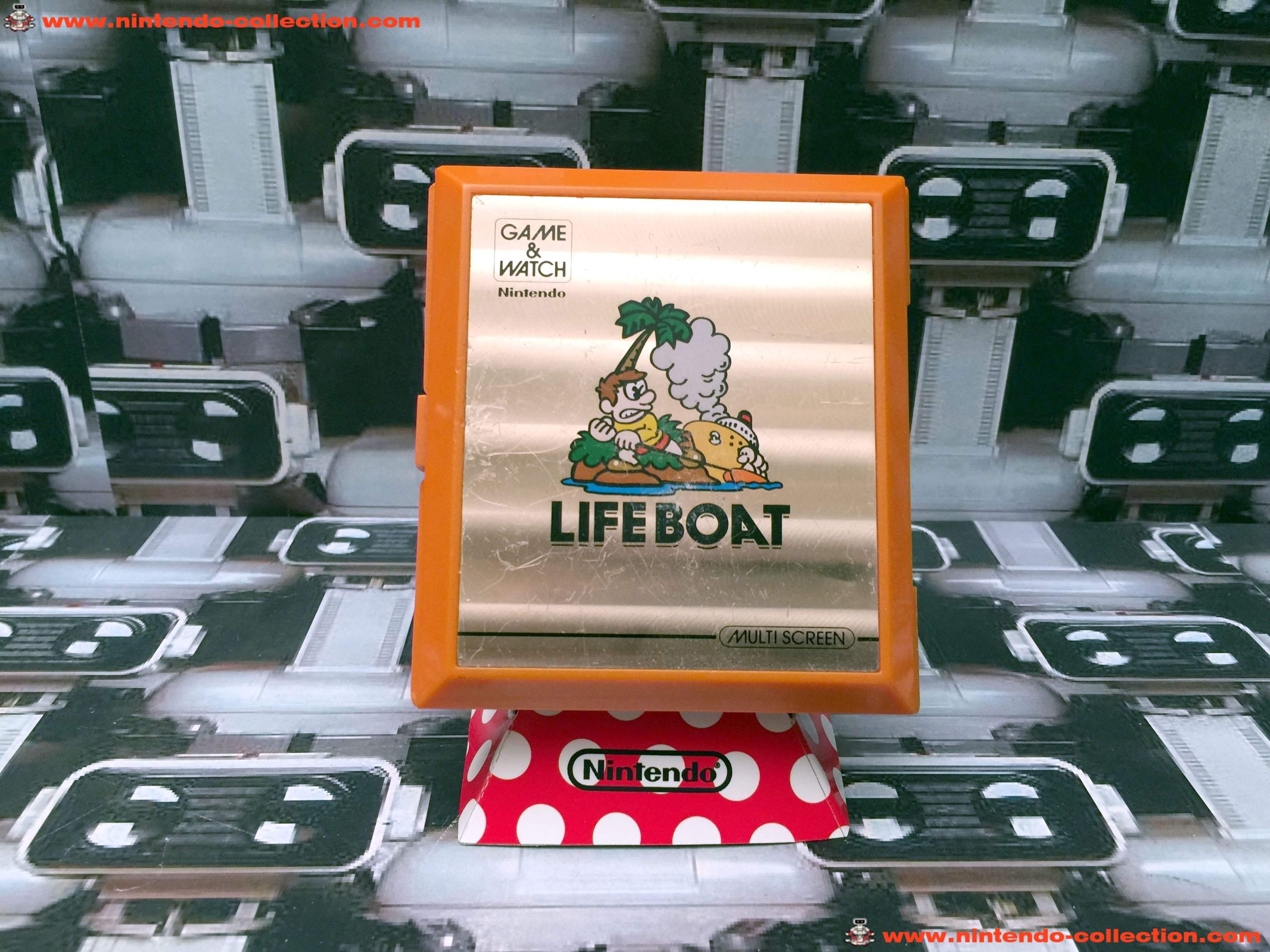 www.nintendo-collection.com - Game & Watch Multi Screen Life Boat - 01