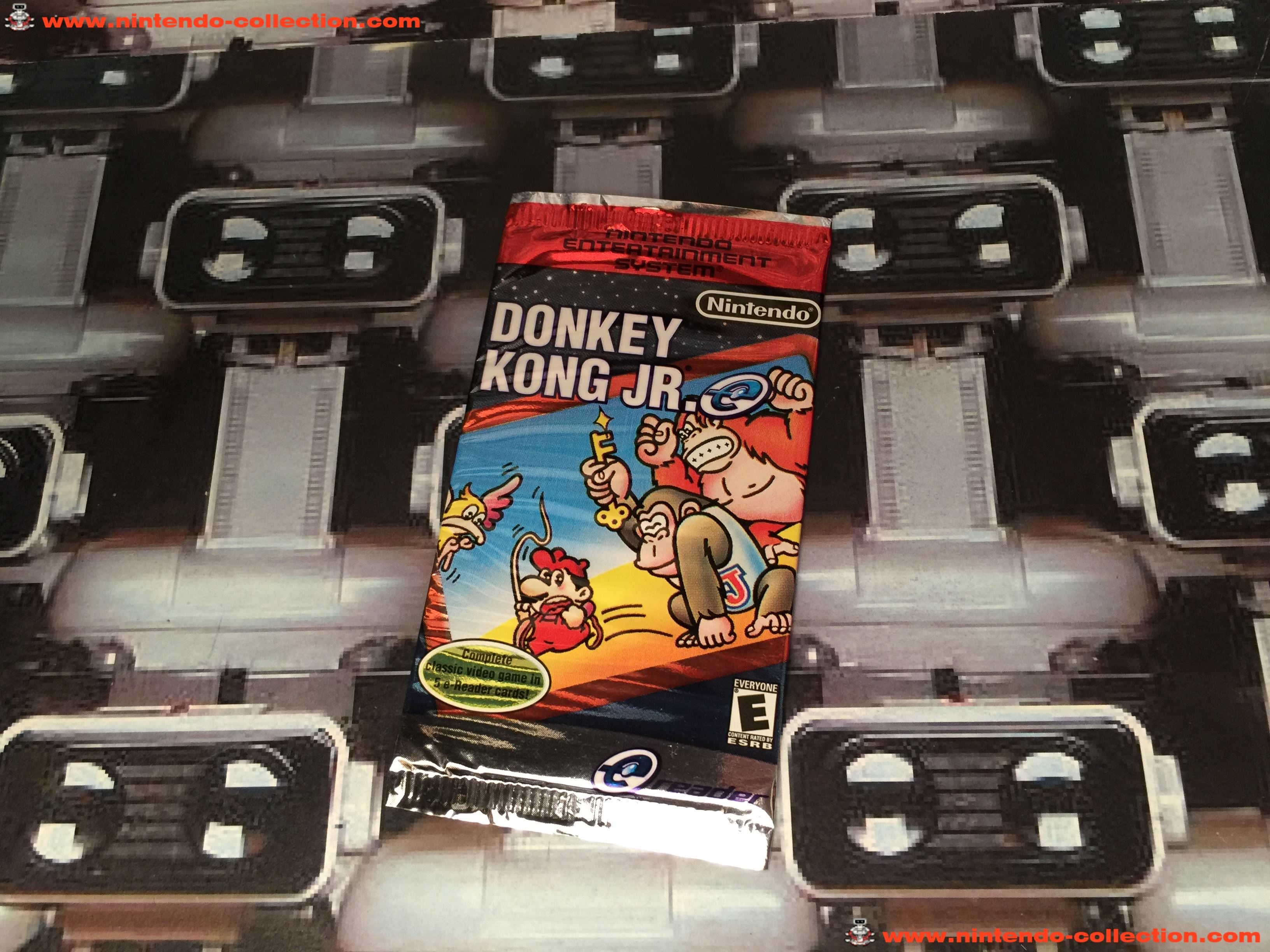 www.nintendo-collection.com - Gameboy Advance GBA Ereader E Reader Donkey Kong Jr Version US Ameriac