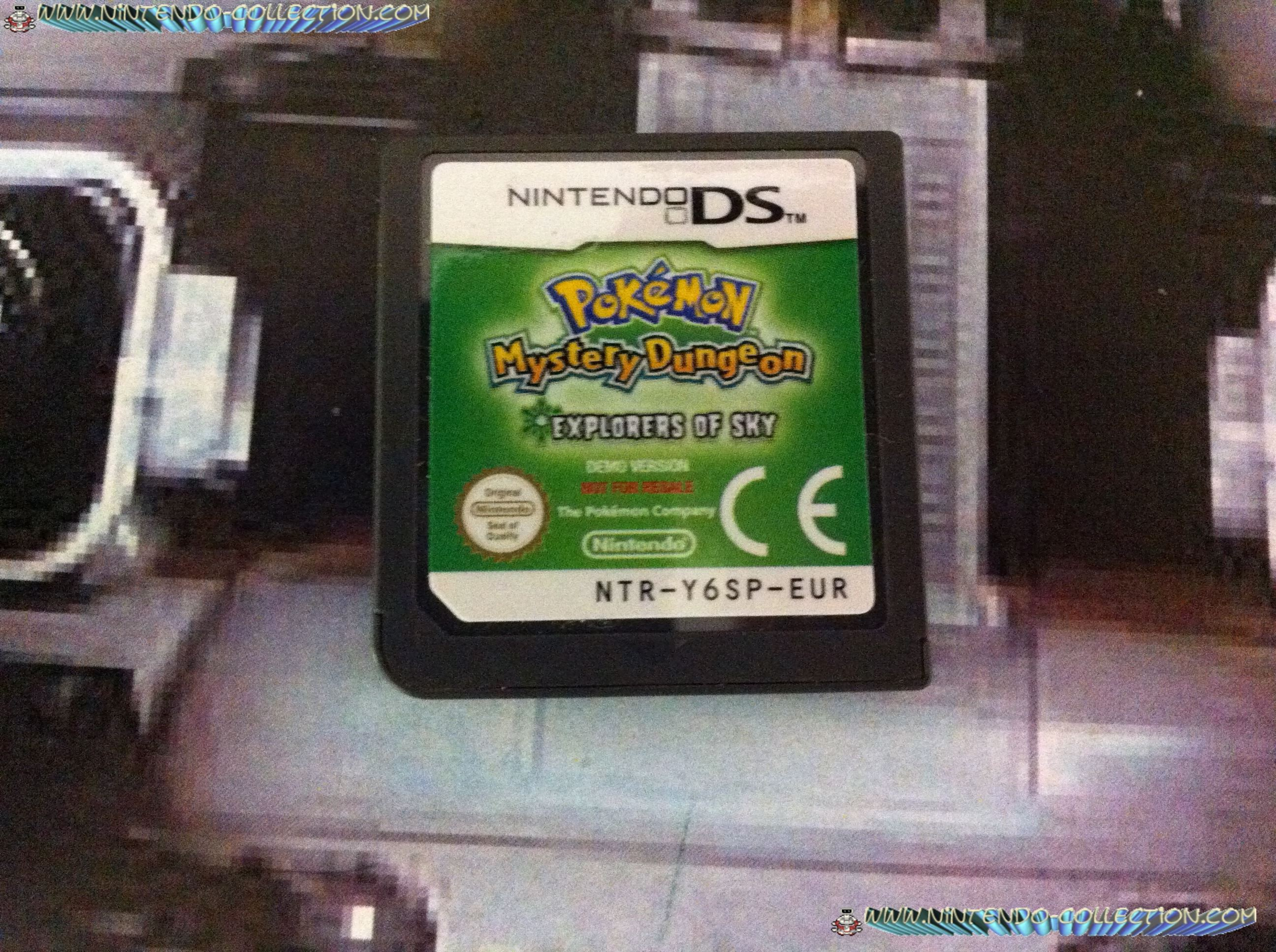 www.nintendo-collection.com - Demo DS 3DS - Not For Resale - Pokemon Mystery Dungeon Explorateurs of