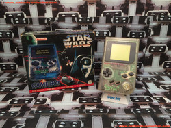 www.nintendo-collection.com - Gameboy GB clear Transparente Pack Star Wars - 01