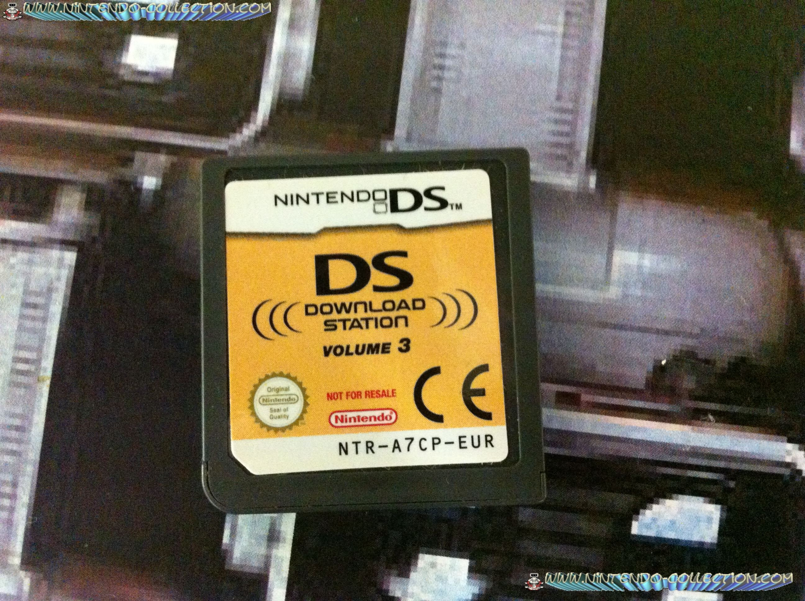 www.nintendo-collection.com - Demo DS 3 DS - Not For Resale - Europe Download Station Volume 3