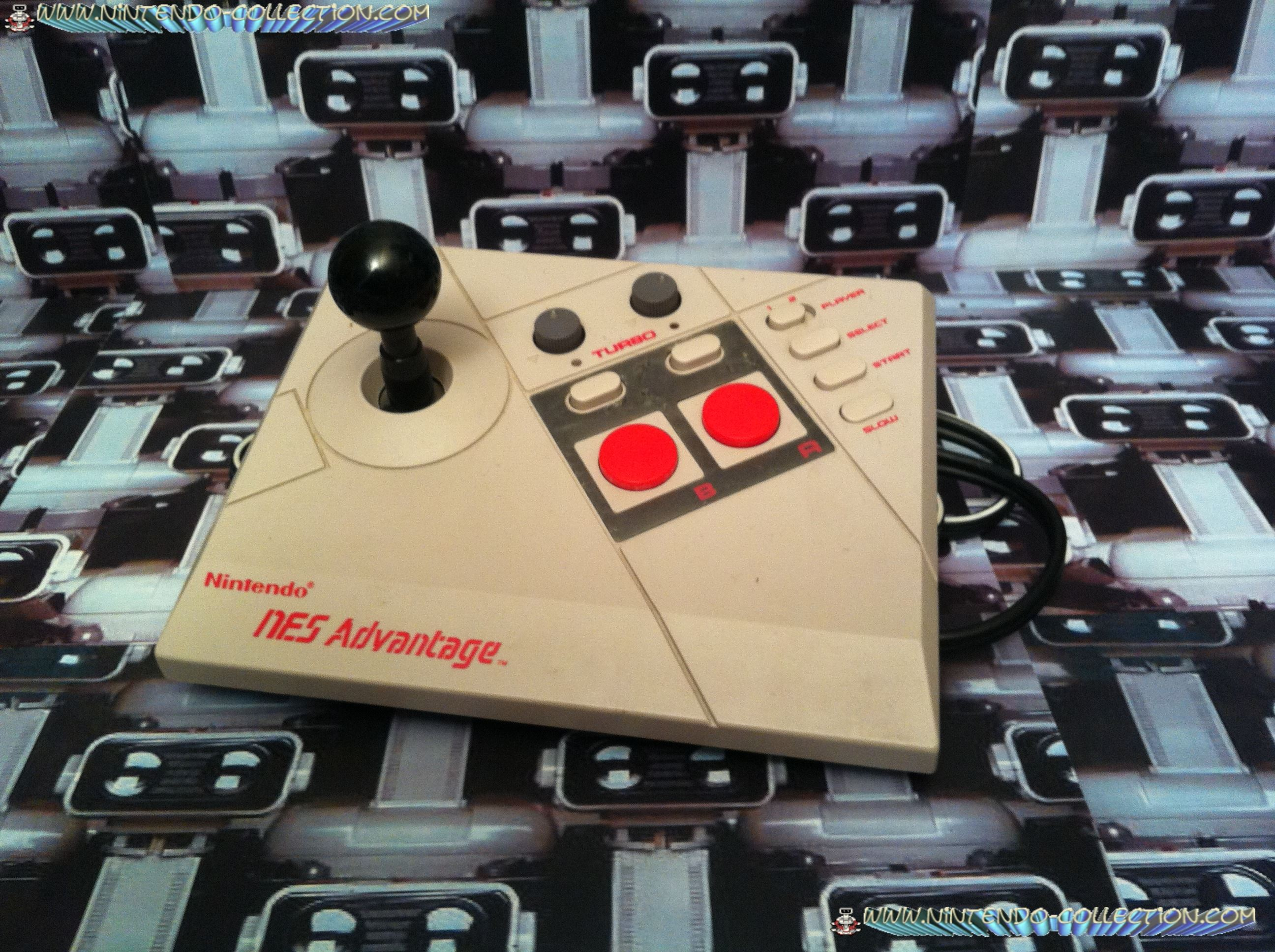 www.nintendo-collection.com - NES Advantage loose