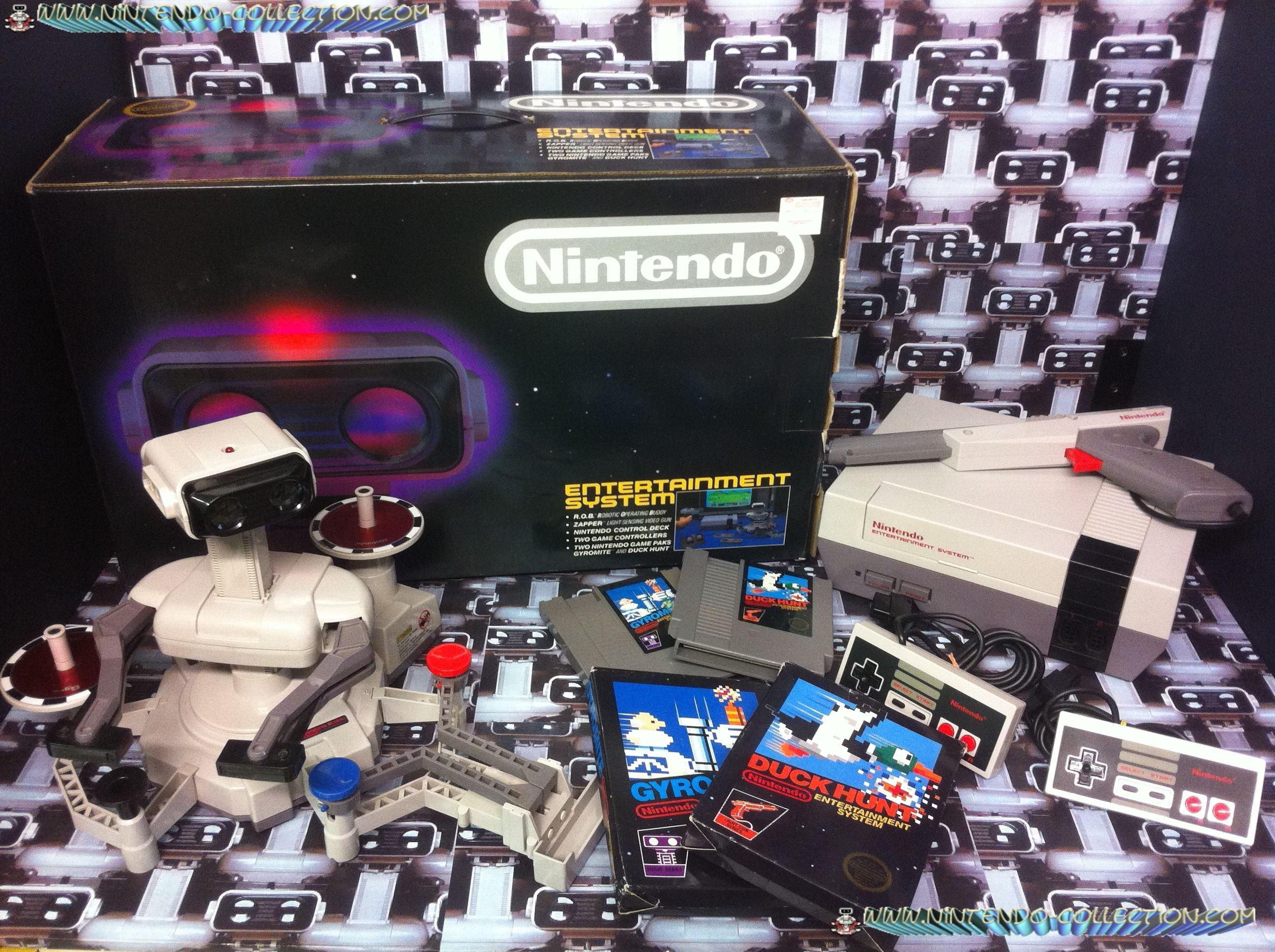 www.nintendo-collection.com - Nintendo NES Deluxe Set Version US Version 1