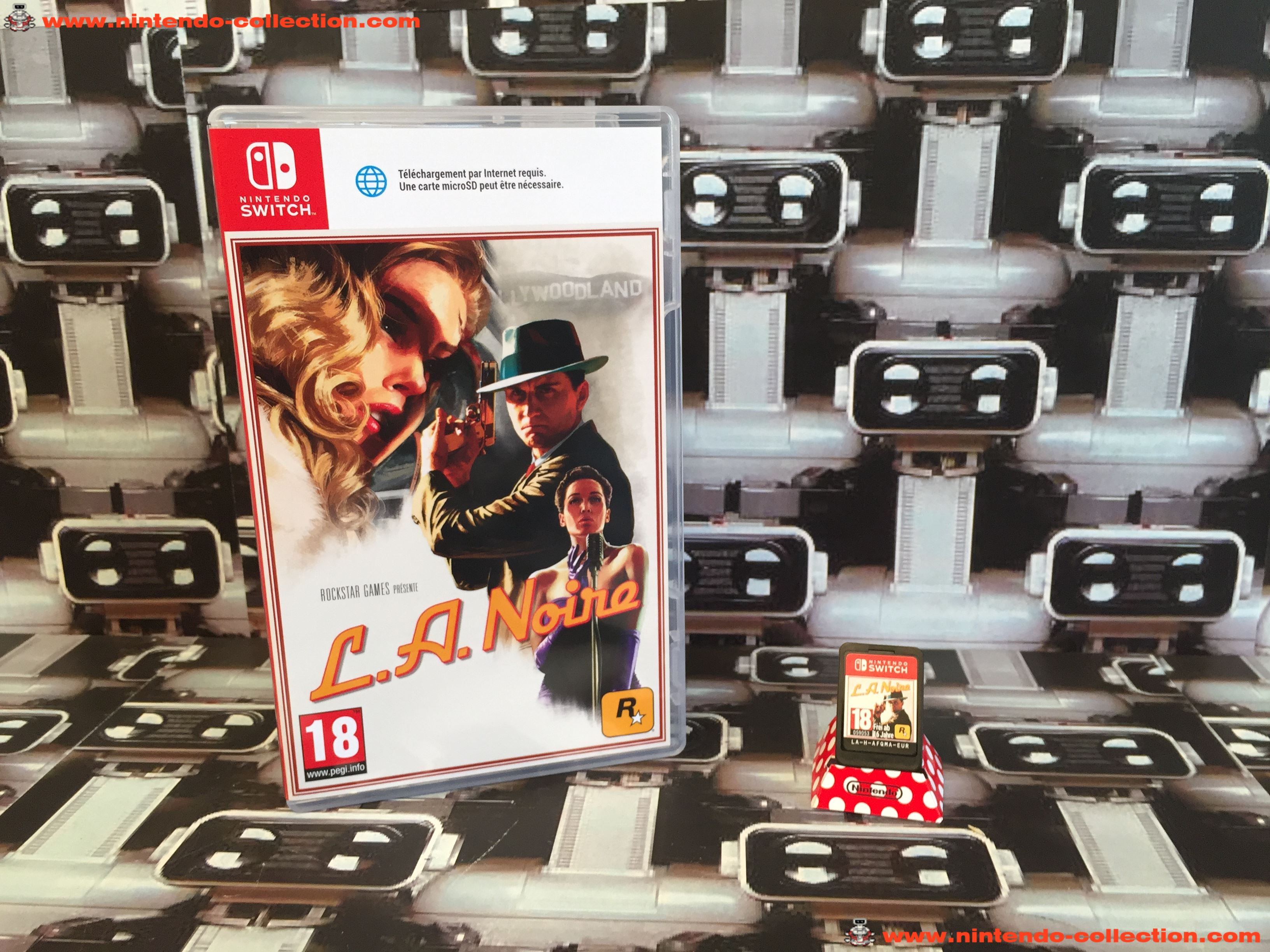 www.nintendo-collection.com - Nintendo Switch Jeux Game L.A. Noire