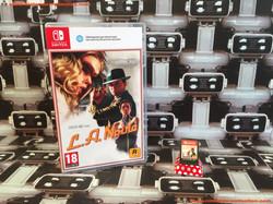 www.nintendo-collection.com - Nintendo Switch Jeux Game L.A. Noire