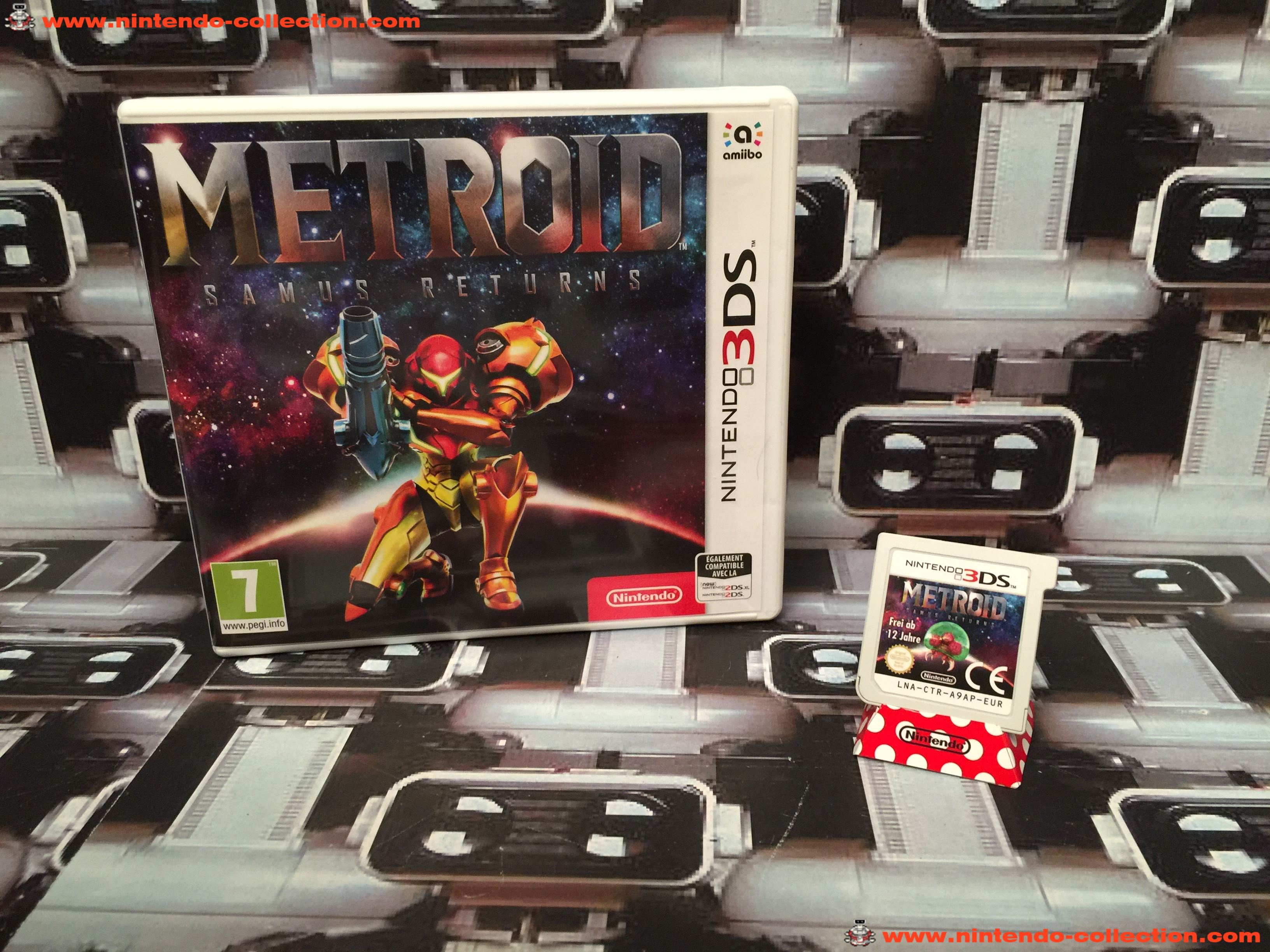 www.nintendo-collection.com - Nintendo 3DS Jeux Game Metroid Samus Return