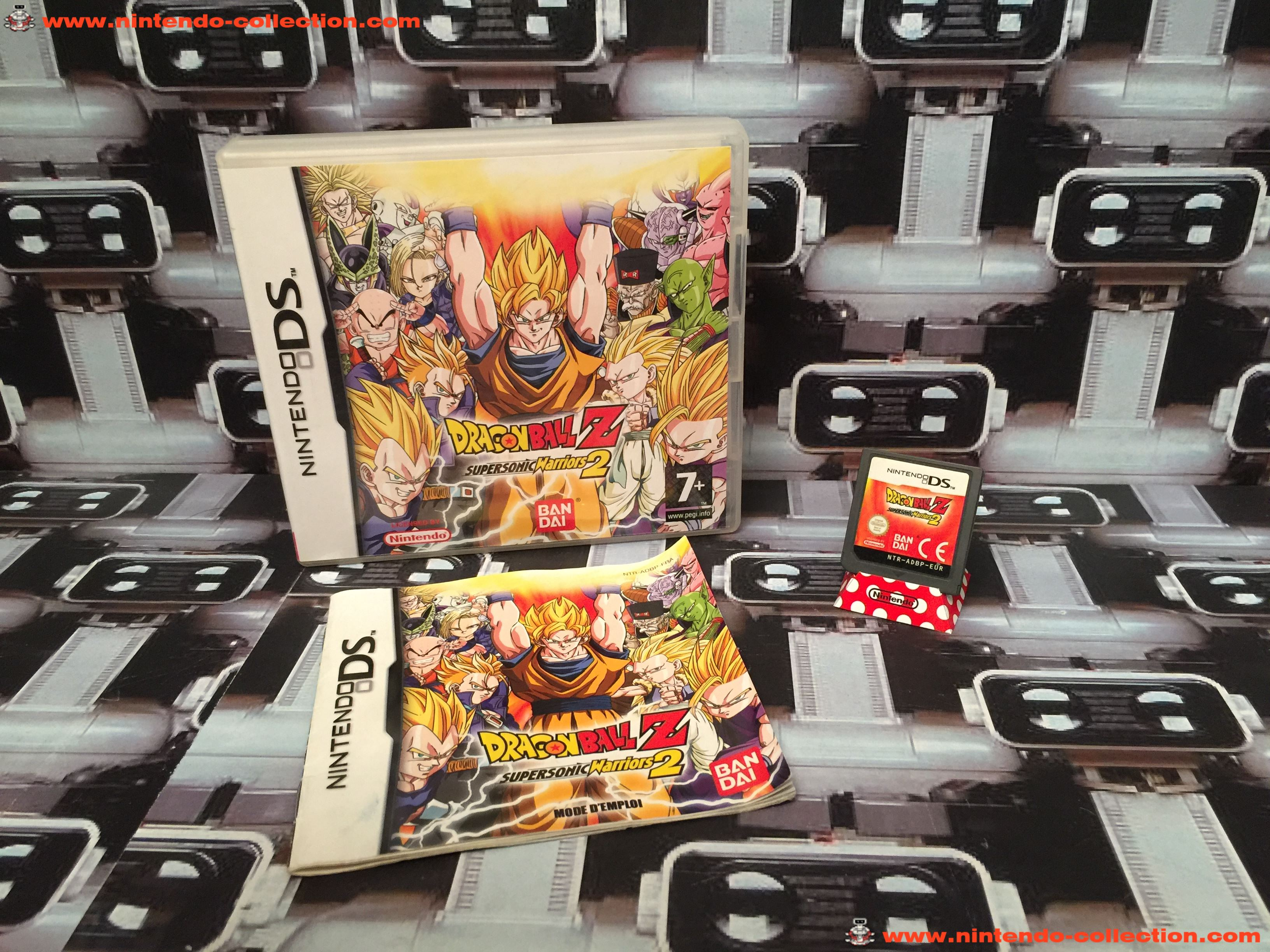 www.nintendo-collection.com - Nintendo DS Jeux Game Dragon Ball Z Supersonic Warriors 2 Euro