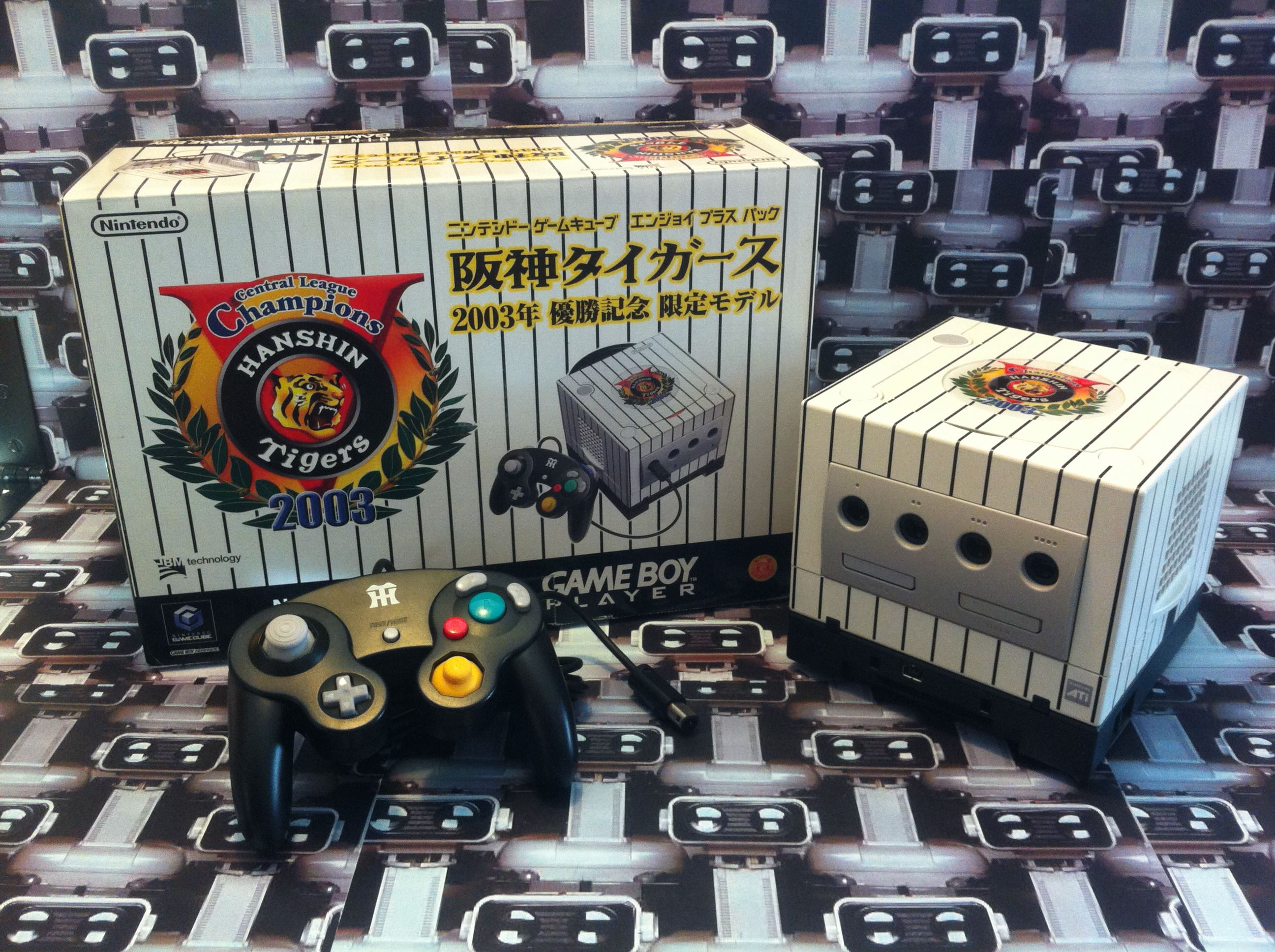 www.nintendo-collection.com - Gamecube Hanshin Tigers 2003 Champions Baseball Limited Edition Japane