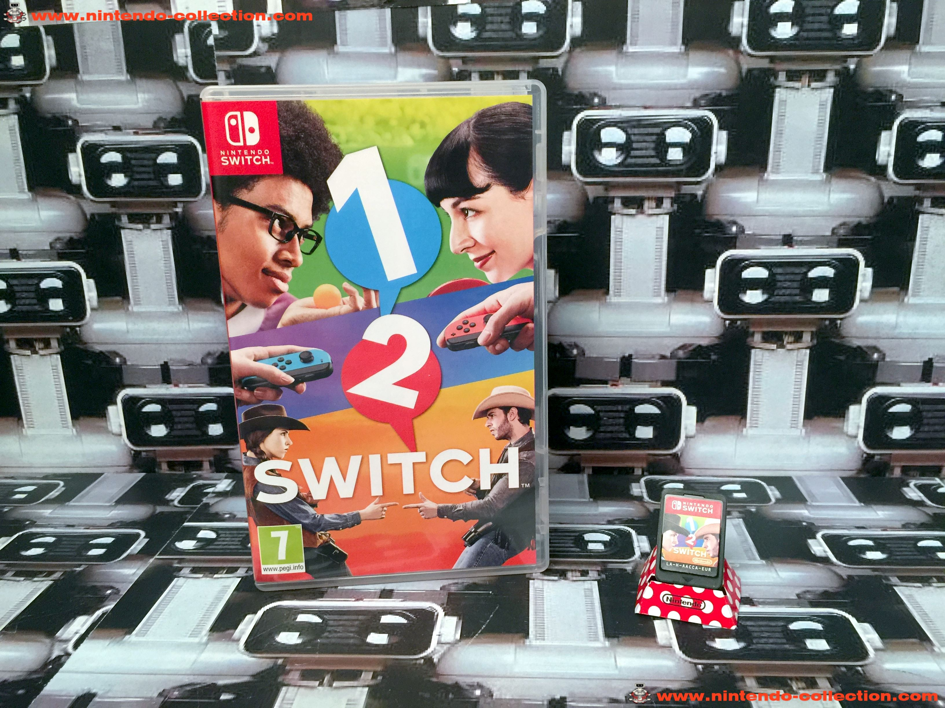 www.nintendo-collection.com - Nintendo Switch Jeux 1 2 Switch