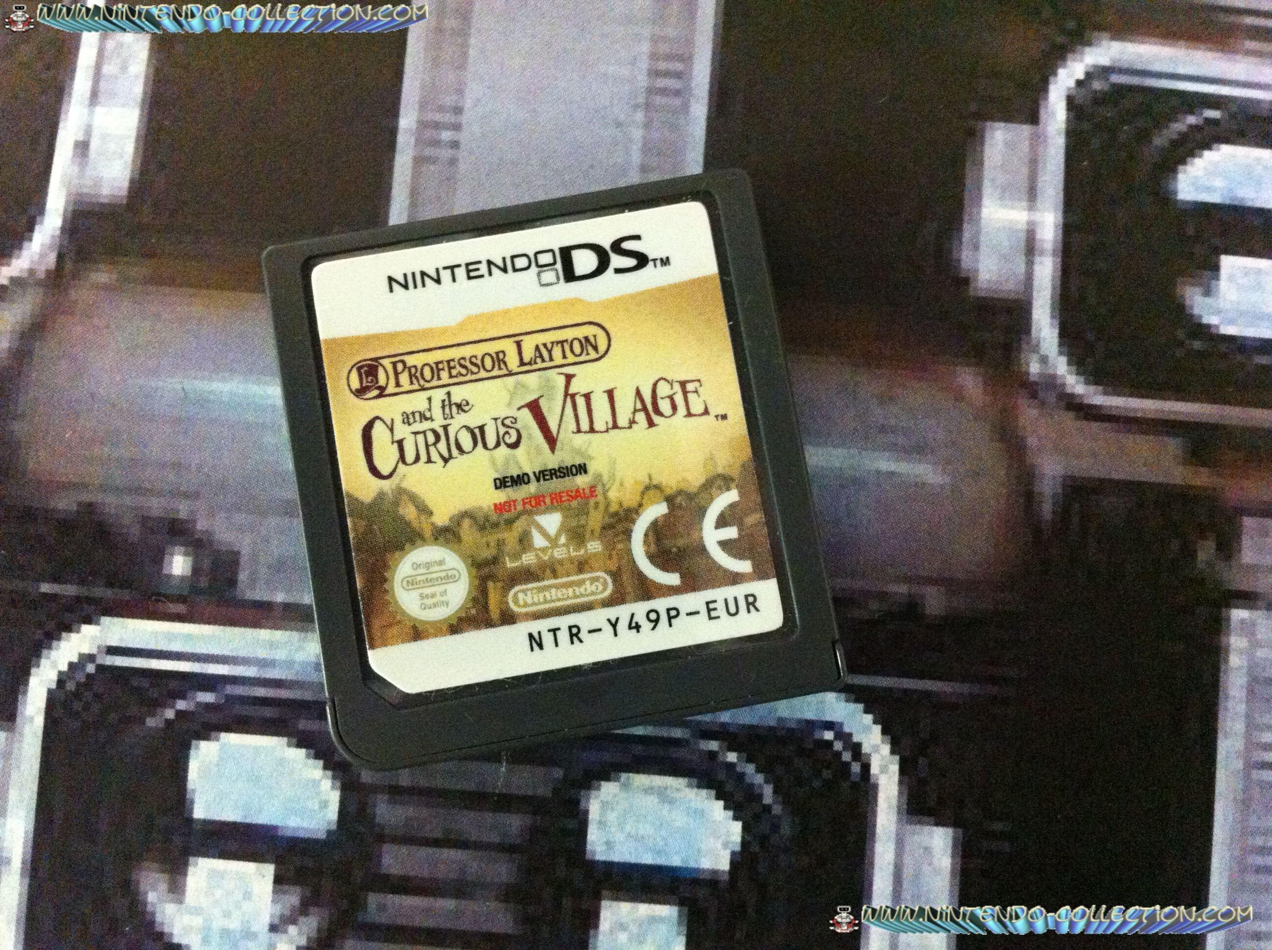 www.nintendo-collection.com - Demo DS 3 DS - Not For Resale - Professeur Layton et l etrange village