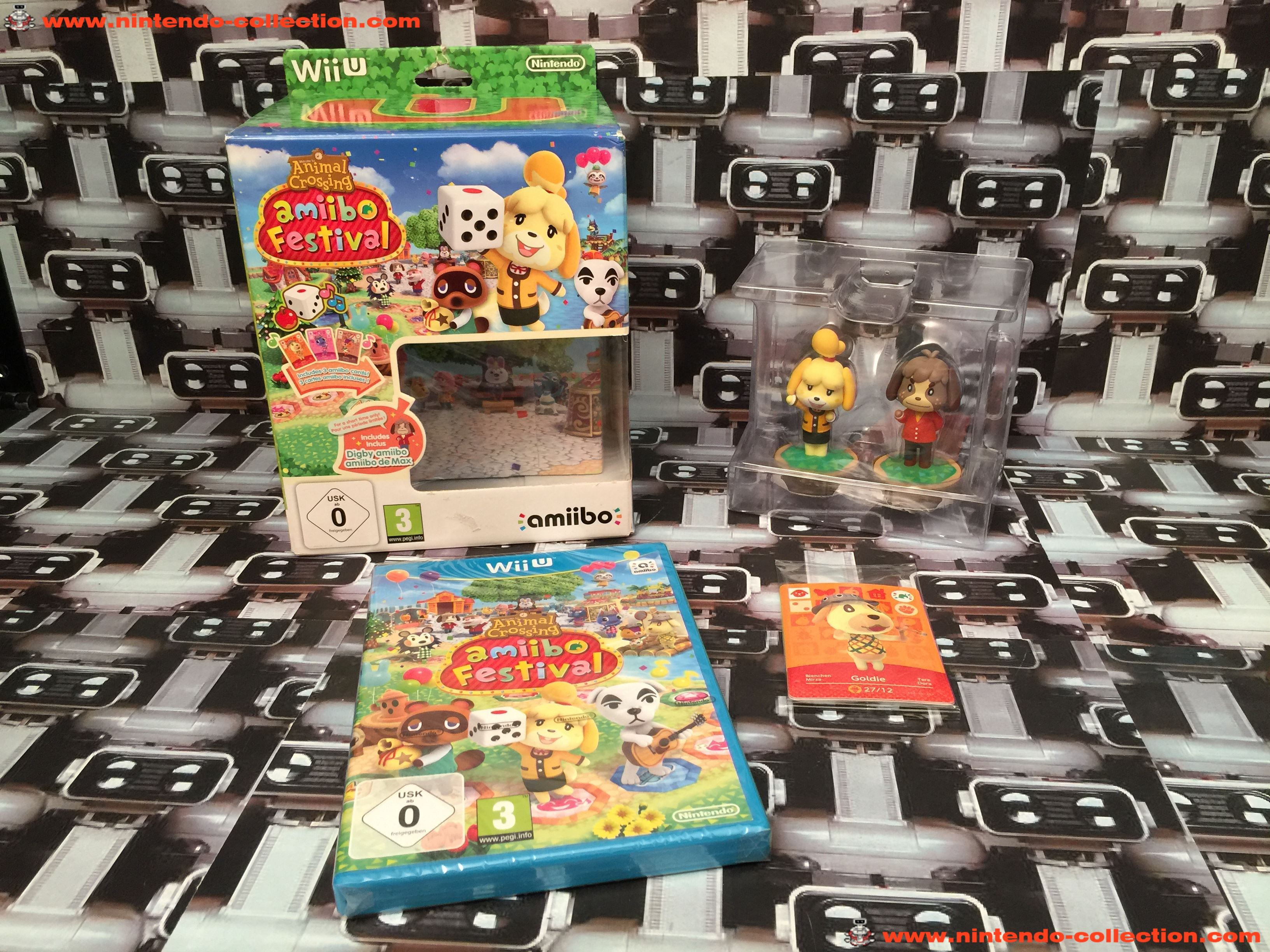 www.nintendo-collection.com - Wii U Game Jeu Collector Animal Crossing Amiibo Festival - 01