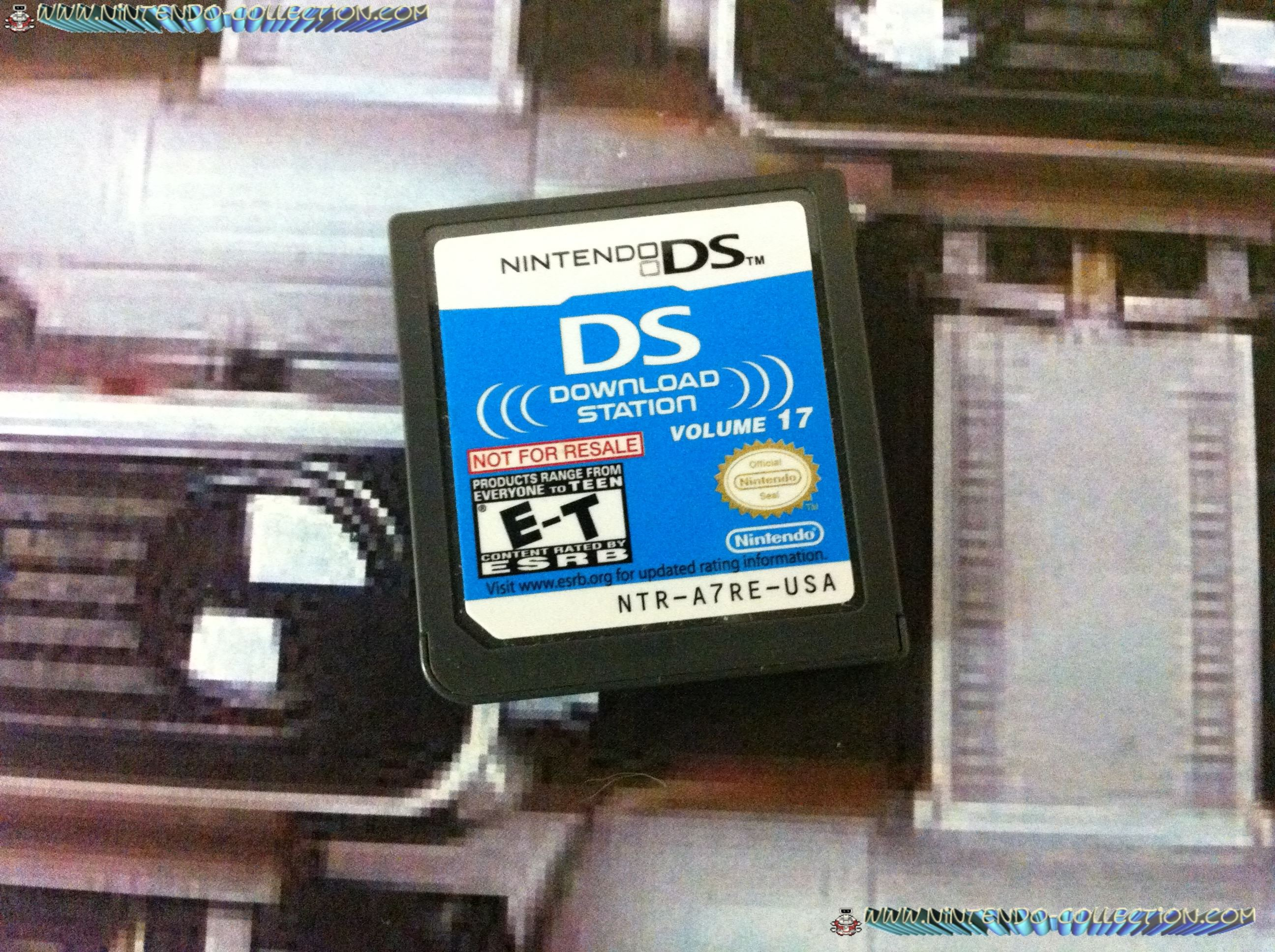 www.nintendo-collection.com - Demo DS 3 DS - Not For Resale - US Download Station Volume 17