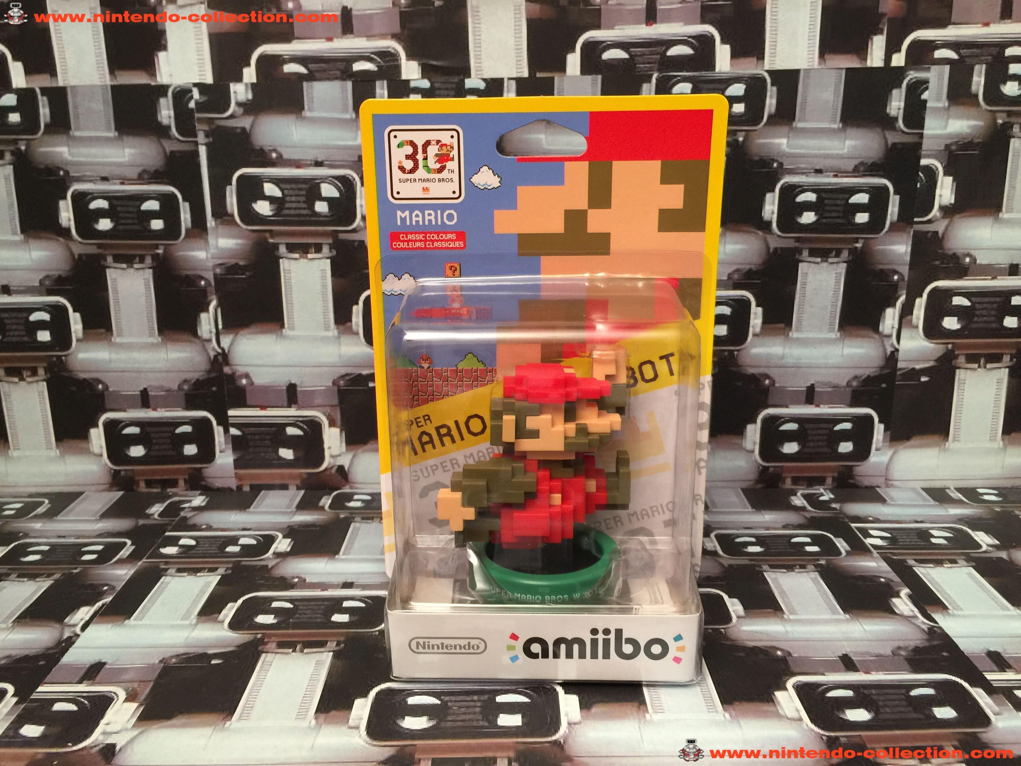 www.nintendo-collection.com - Amiibo Mario 30th Classic Colors - 0