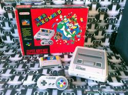 www.nintendo-collection.com - Super Nintendo Super Famicom Super Nes Pack Super Mario World Rouge Re