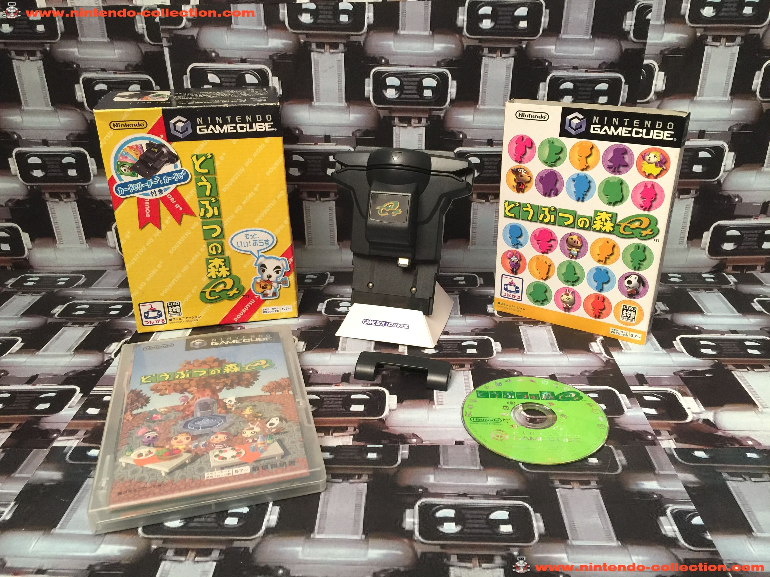 www.nintendo-collection.com - Gamecube Animal Crossing  Doubutsu no Mori Plus E+Gameboy Advance GBA