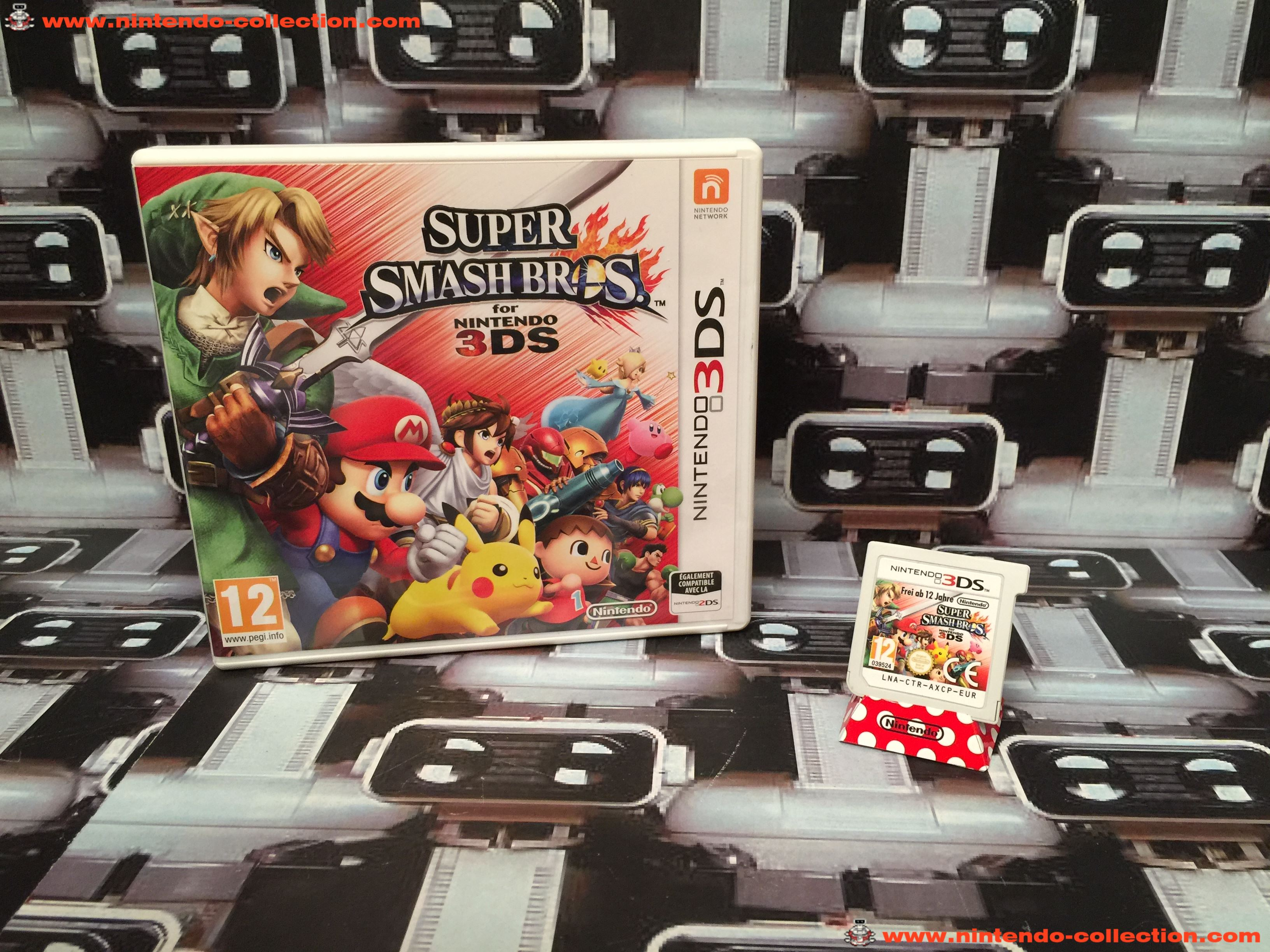 www.nintendo-collection.com - Nintendo 3DS Jeux Game Super Smash Bros