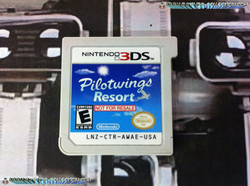 www.Nintendo-Collection.com - Demo 3DS Nintendo Pilotwings Resort Not For Resale