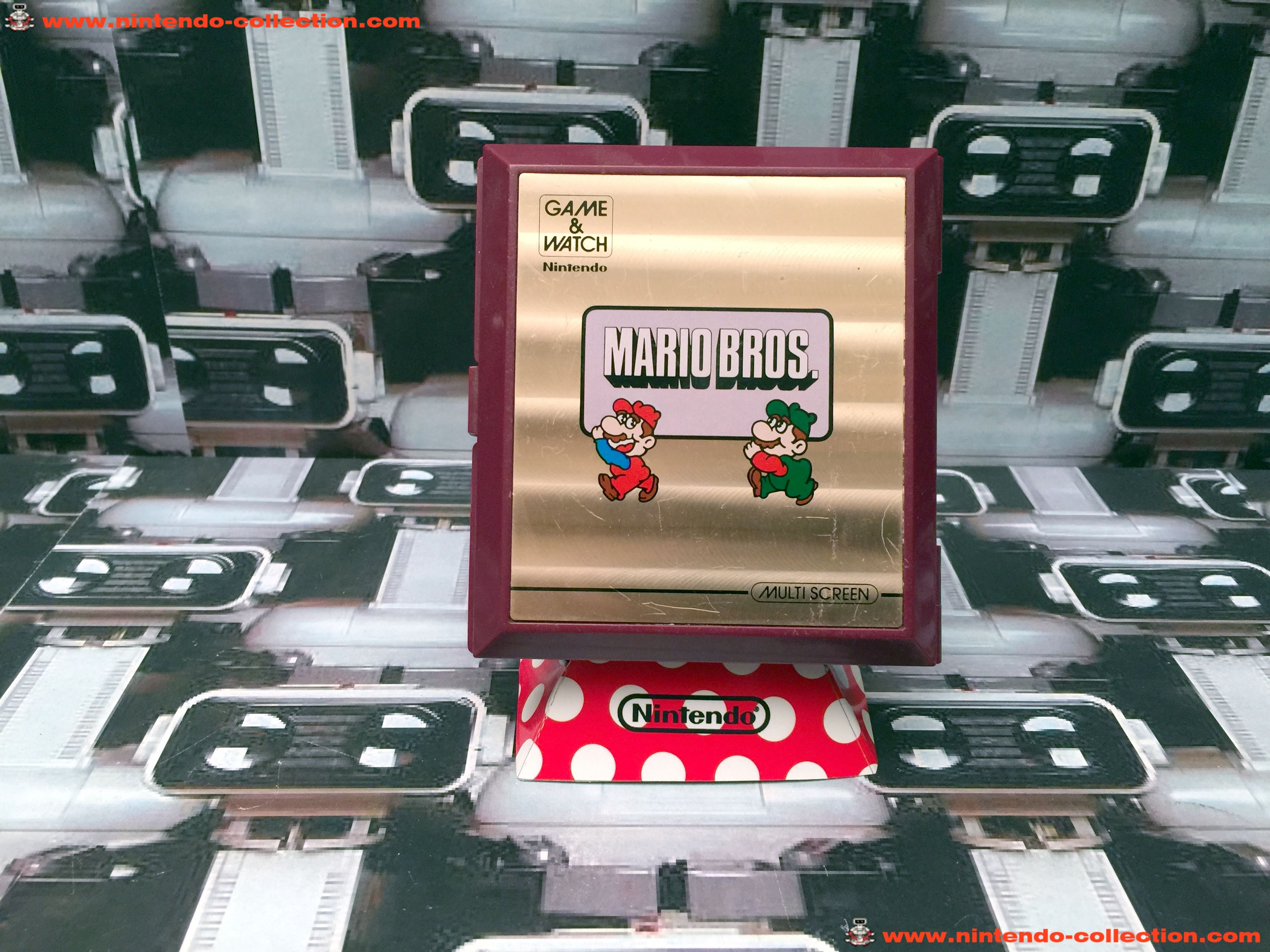 www.nintendo-collection.com - Game & Watch Multi Screen Mario Bros. - 01