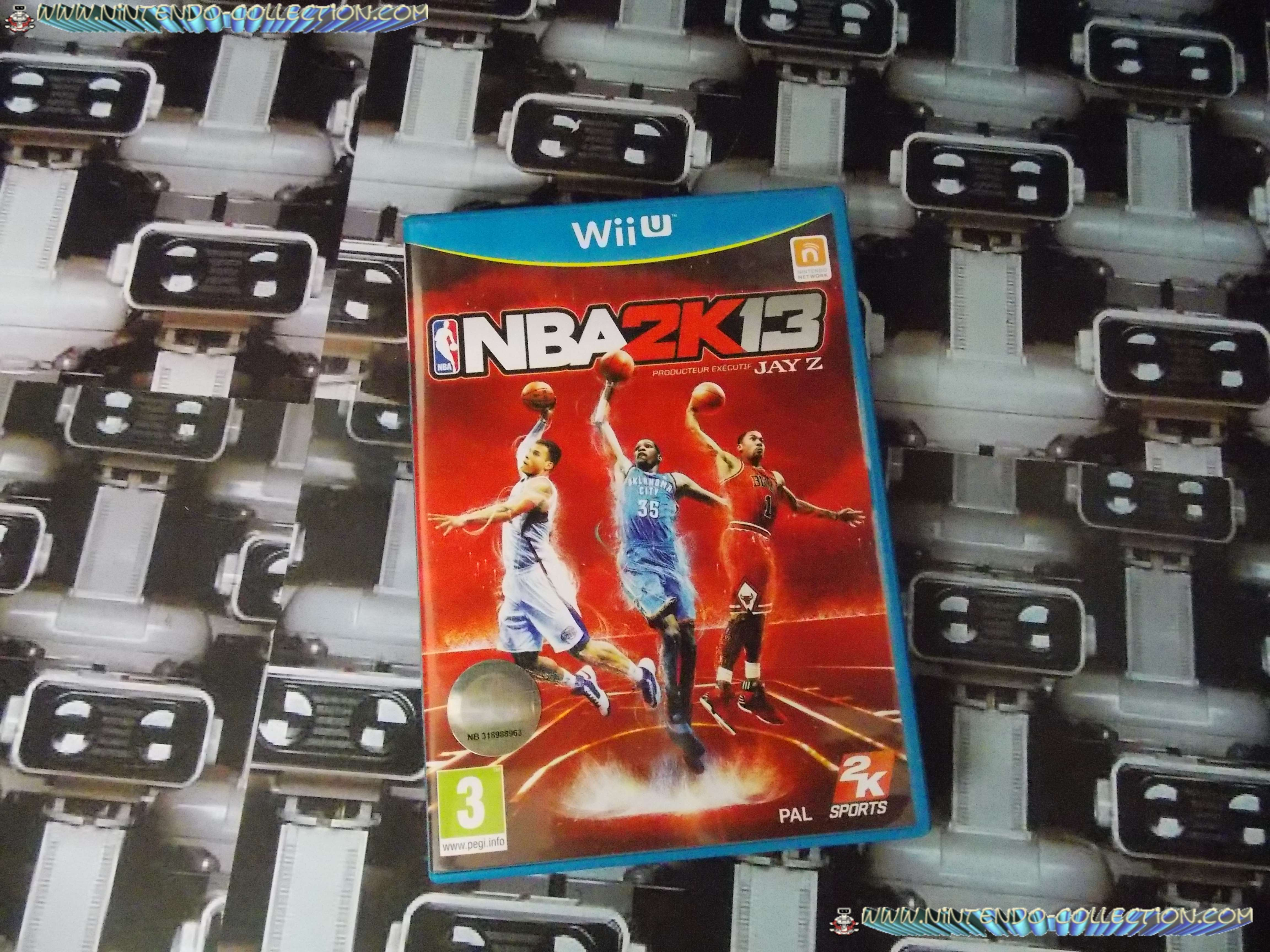 www.nintendo-collection.com - Wii U Game Jeu NBA 2K13