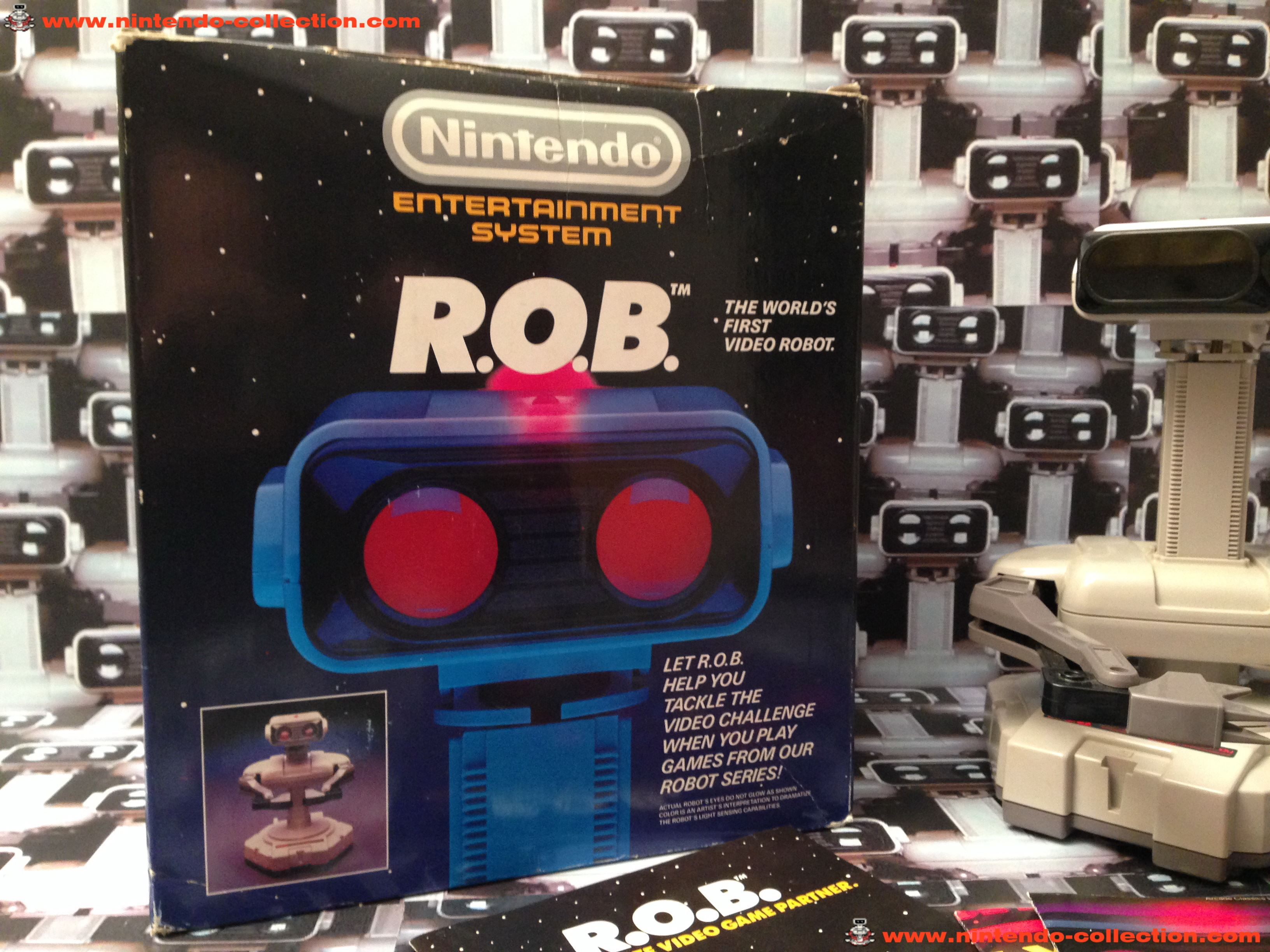 www.nintendo-collection.com - ROB NES en boite in box - 02
