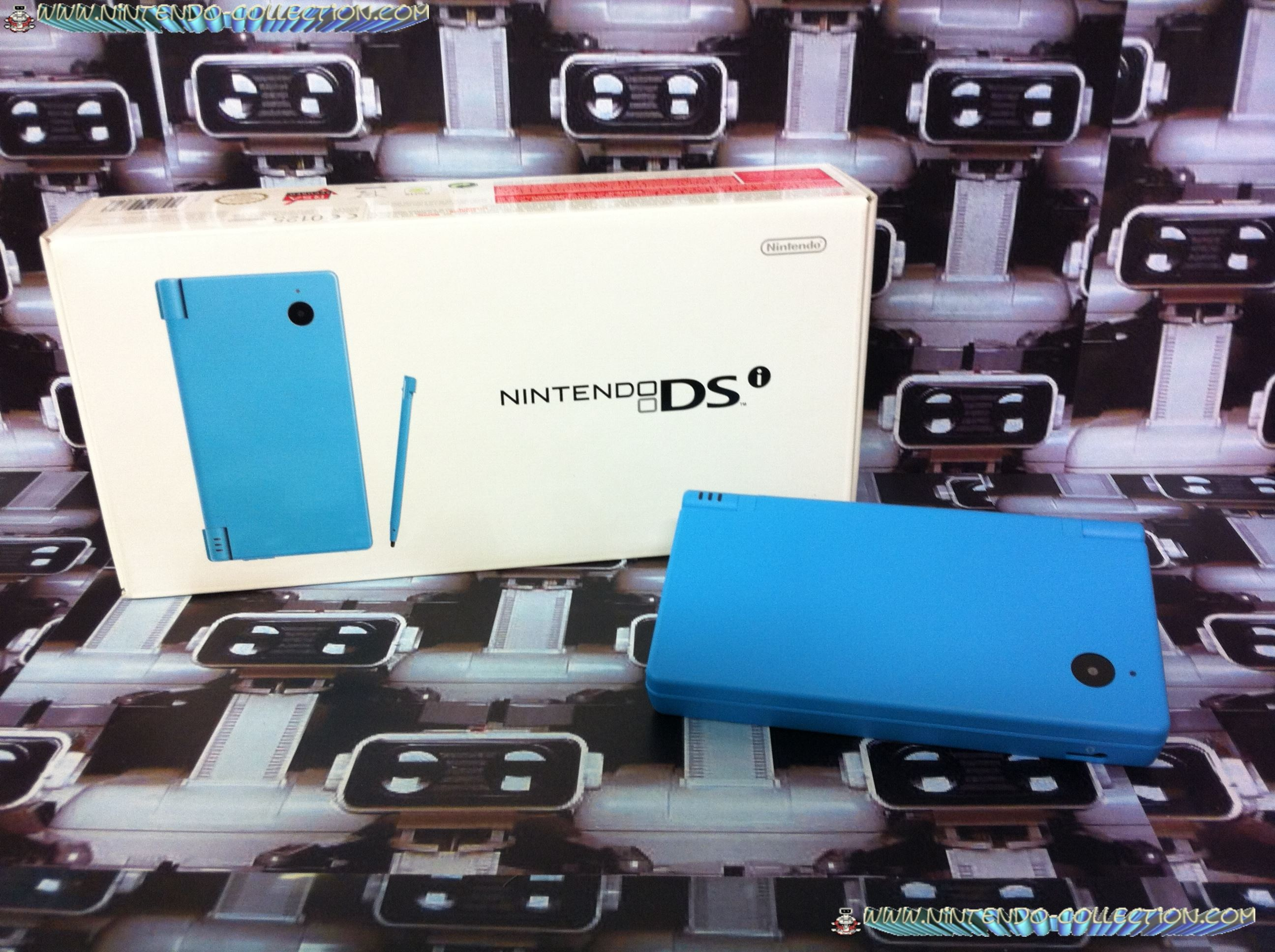 www.nintendo-collection.com -  Nintendo DSi Blue bleue european version europe