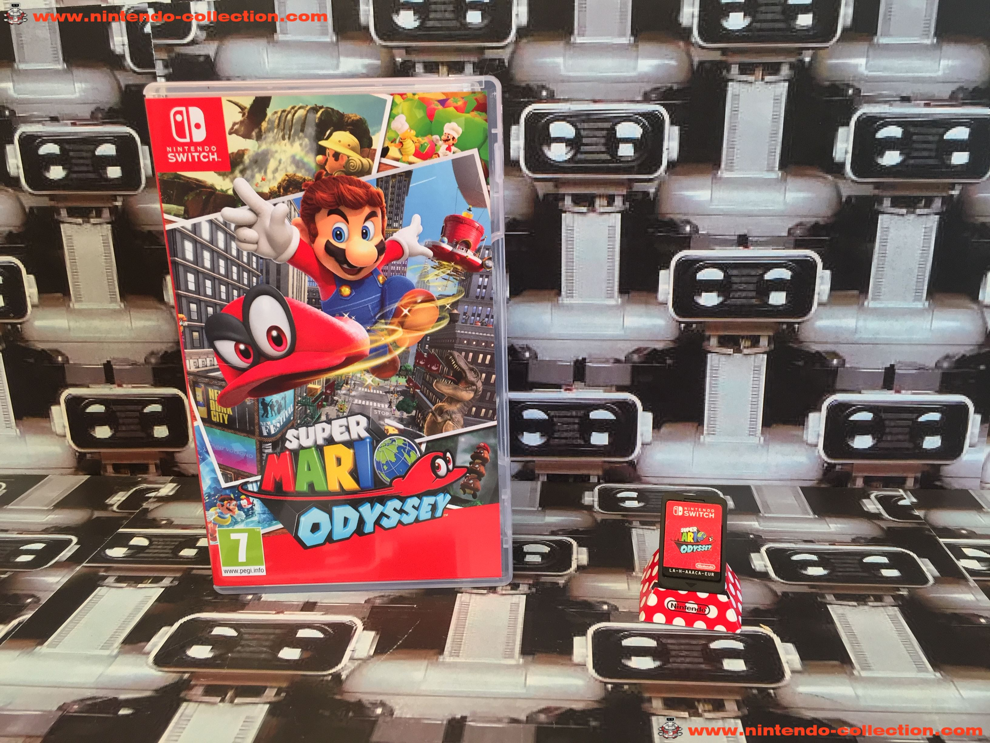 www.nintendo-collection.com - Nintendo Switch Jeux Game Super Mario Odyssey