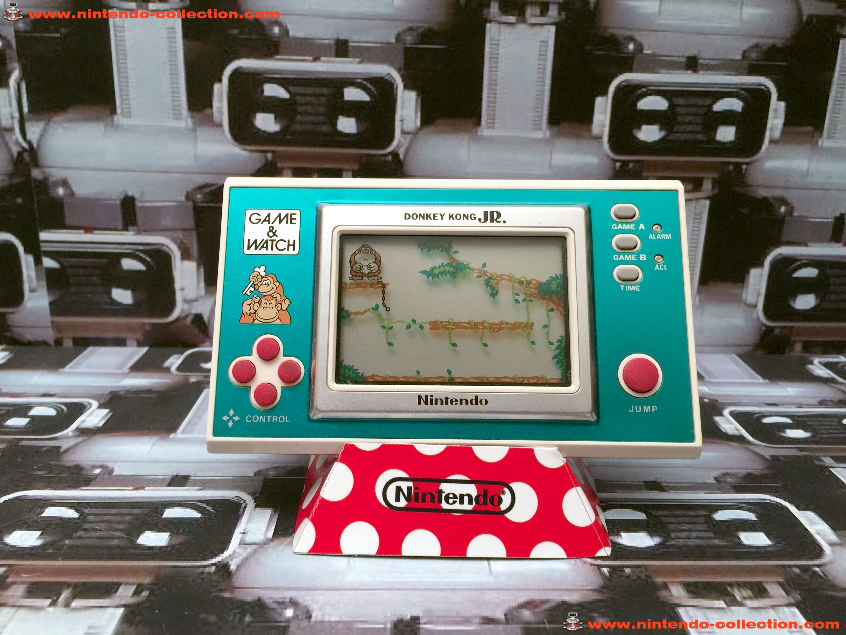 www.nintendo-collection.com - Game & Watch Wide Screen Donkey Kong JR.