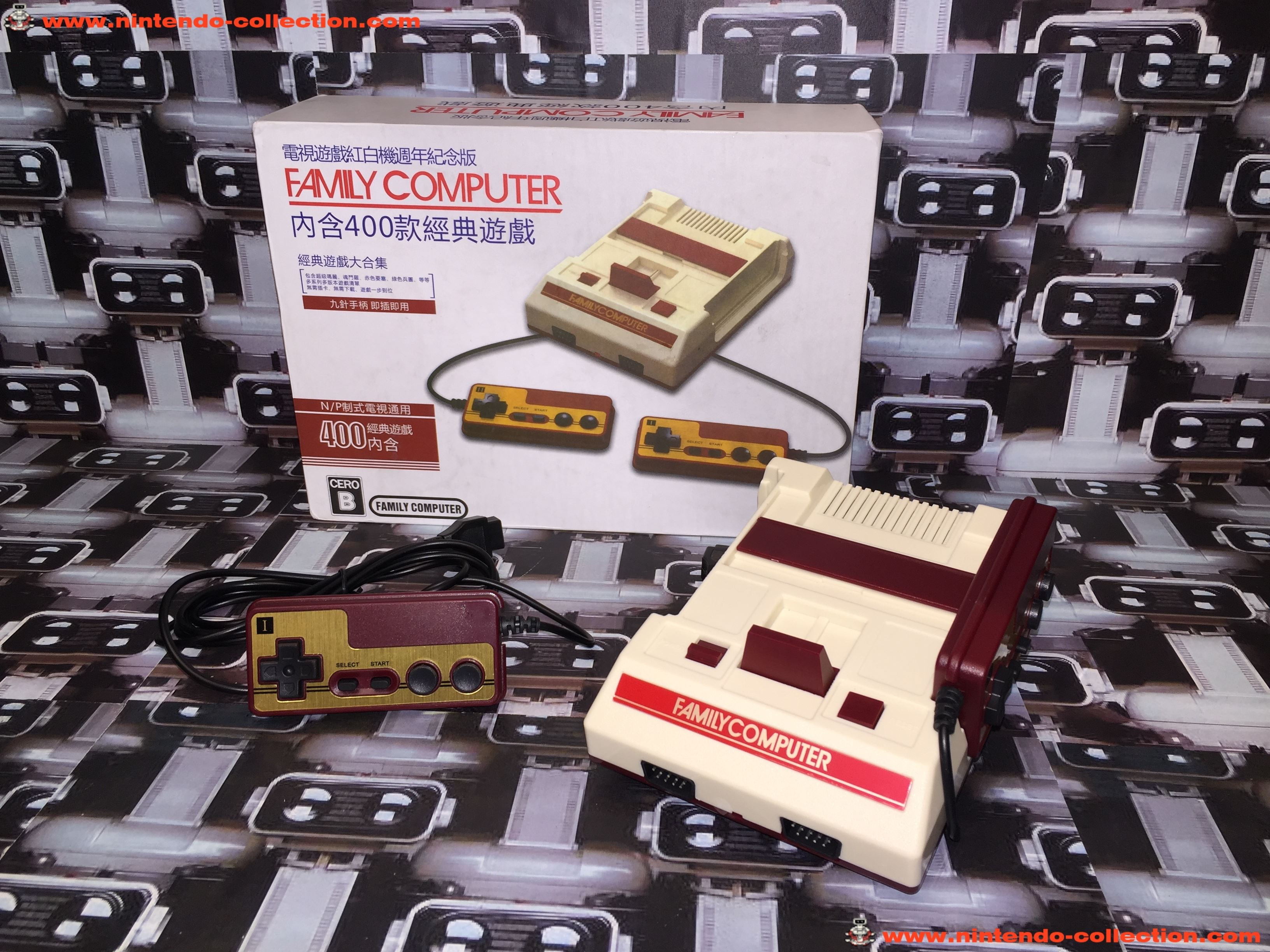 www.nintendo-collection.com - Nintendo Classic Mini Famicom Clone Nes Hong Kong Version - 01
