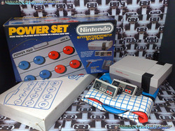 www.nintendo-collection.com - Nintendo NES Power Set - Version Zapper Gris Grey - Pack US