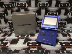 www.nintendo-collection.com - Gameboy Advance GBA SP Blue Bleu Edition europeenne european - 03
